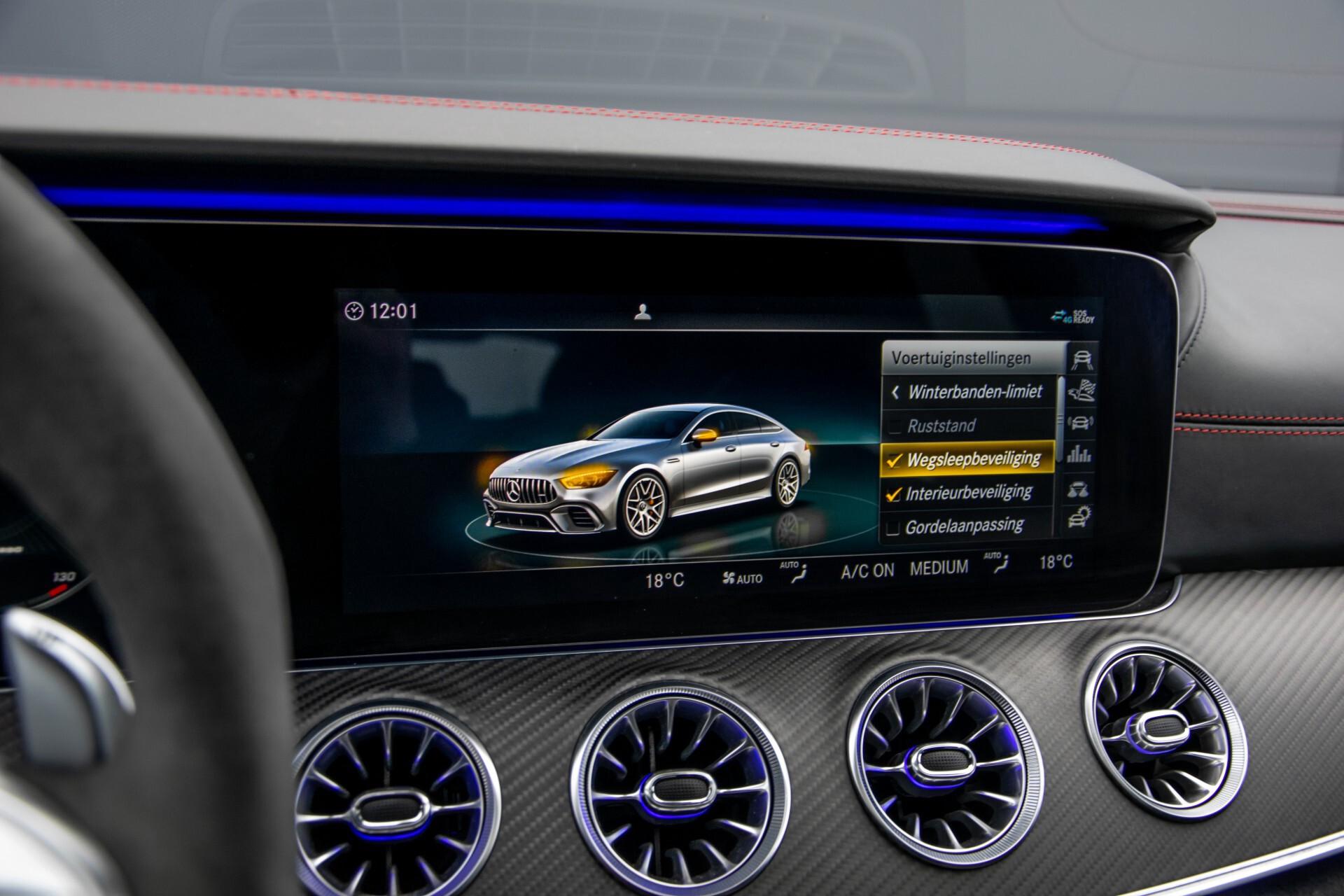 Mercedes-Benz AMG GT 4-Door Coupe 63 S 4M+ Keramisch/Full Carbon/Aerodynamica/Burmester 3D/TV/Performance stoelen/Standkachel Aut9 Foto 41