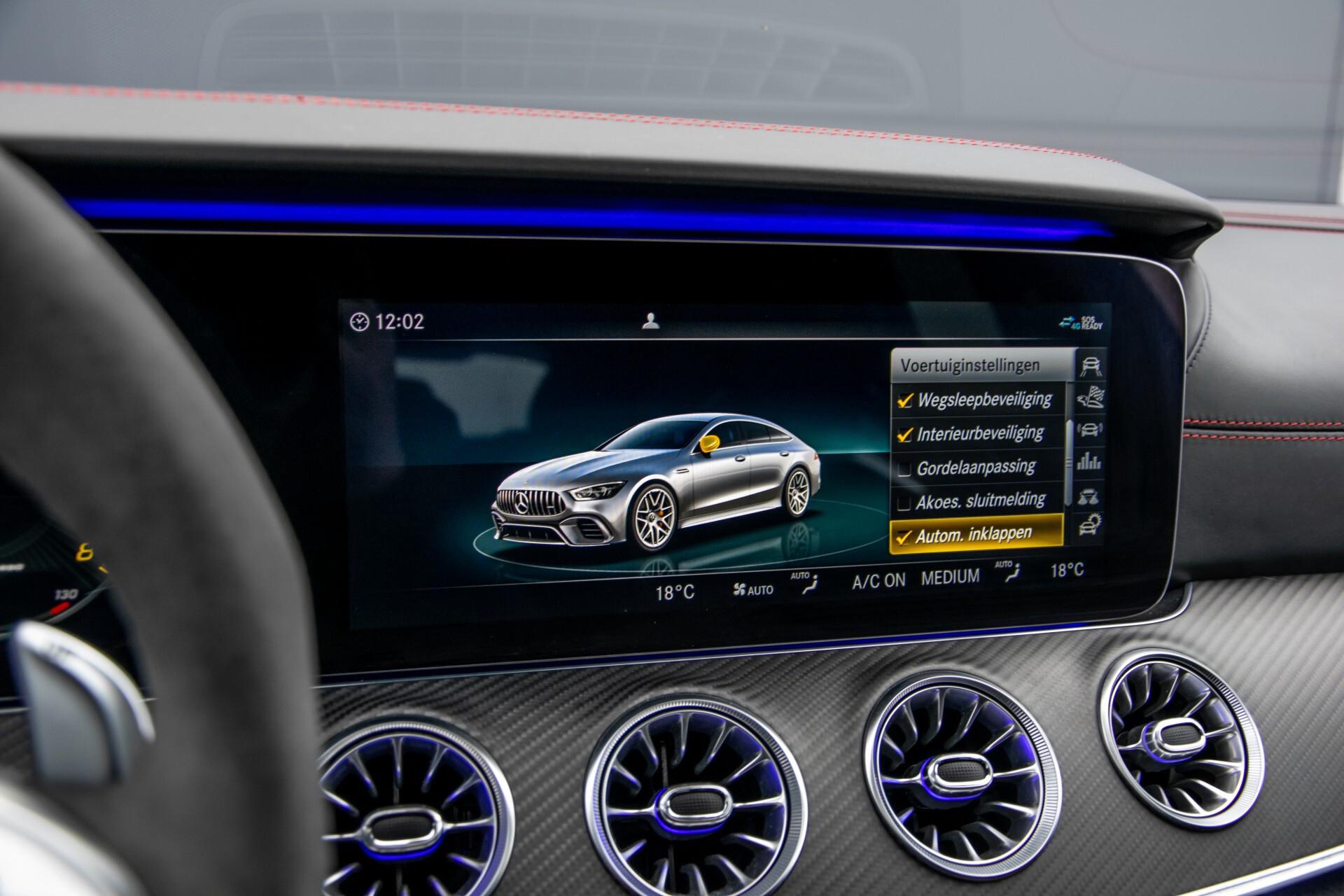 Mercedes-Benz AMG GT 4-Door Coupe 63 S 4M+ Keramisch/Full Carbon/Aerodynamica/Burmester 3D/TV/Performance stoelen/Standkachel Aut9 Foto 43