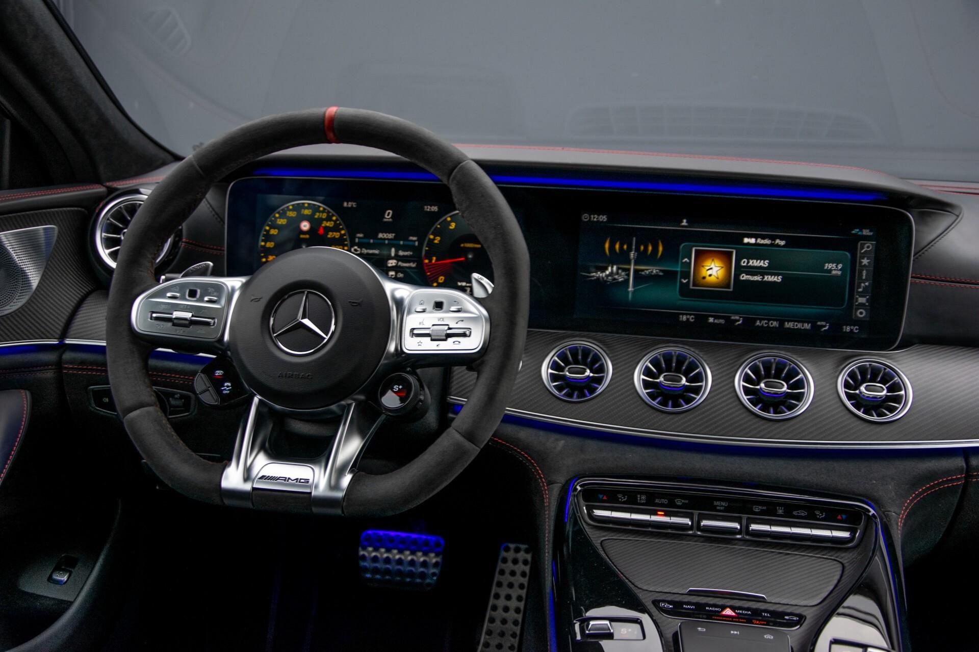 Mercedes-Benz AMG GT 4-Door Coupe 63 S 4M+ Keramisch/Full Carbon/Aerodynamica/Burmester 3D/TV/Performance stoelen/Standkachel Aut9 Foto 6