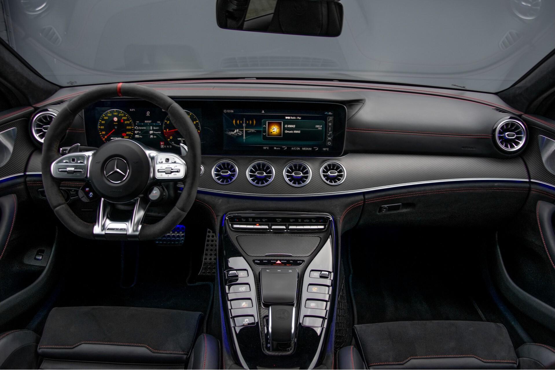 Mercedes-Benz AMG GT 4-Door Coupe 63 S 4M+ Keramisch/Full Carbon/Aerodynamica/Burmester 3D/TV/Performance stoelen/Standkachel Aut9 Foto 7