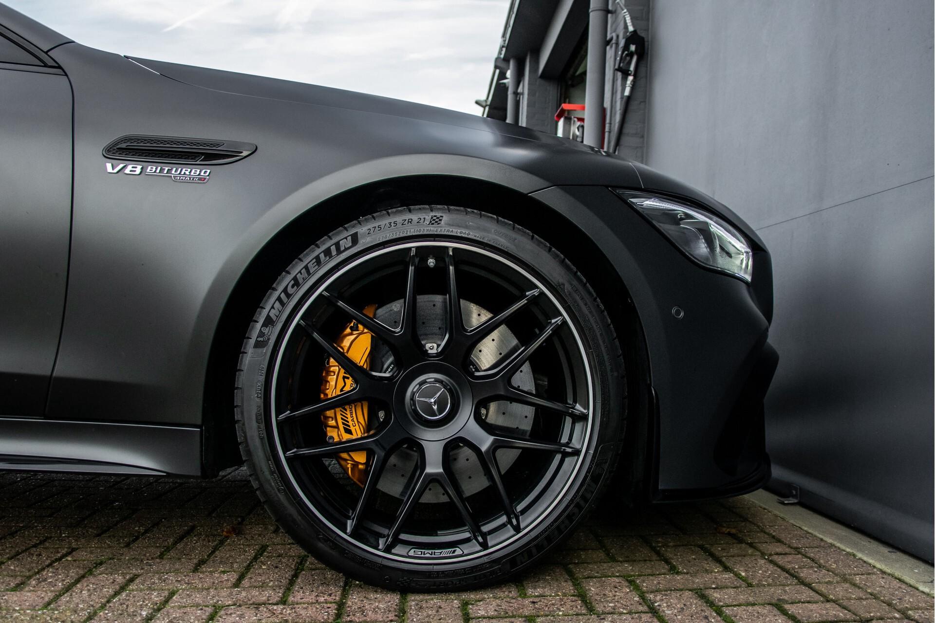 Mercedes-Benz AMG GT 4-Door Coupe 63 S 4M+ Keramisch/Full Carbon/Aerodynamica/Burmester 3D/TV/Performance stoelen/Standkachel Aut9 Foto 70