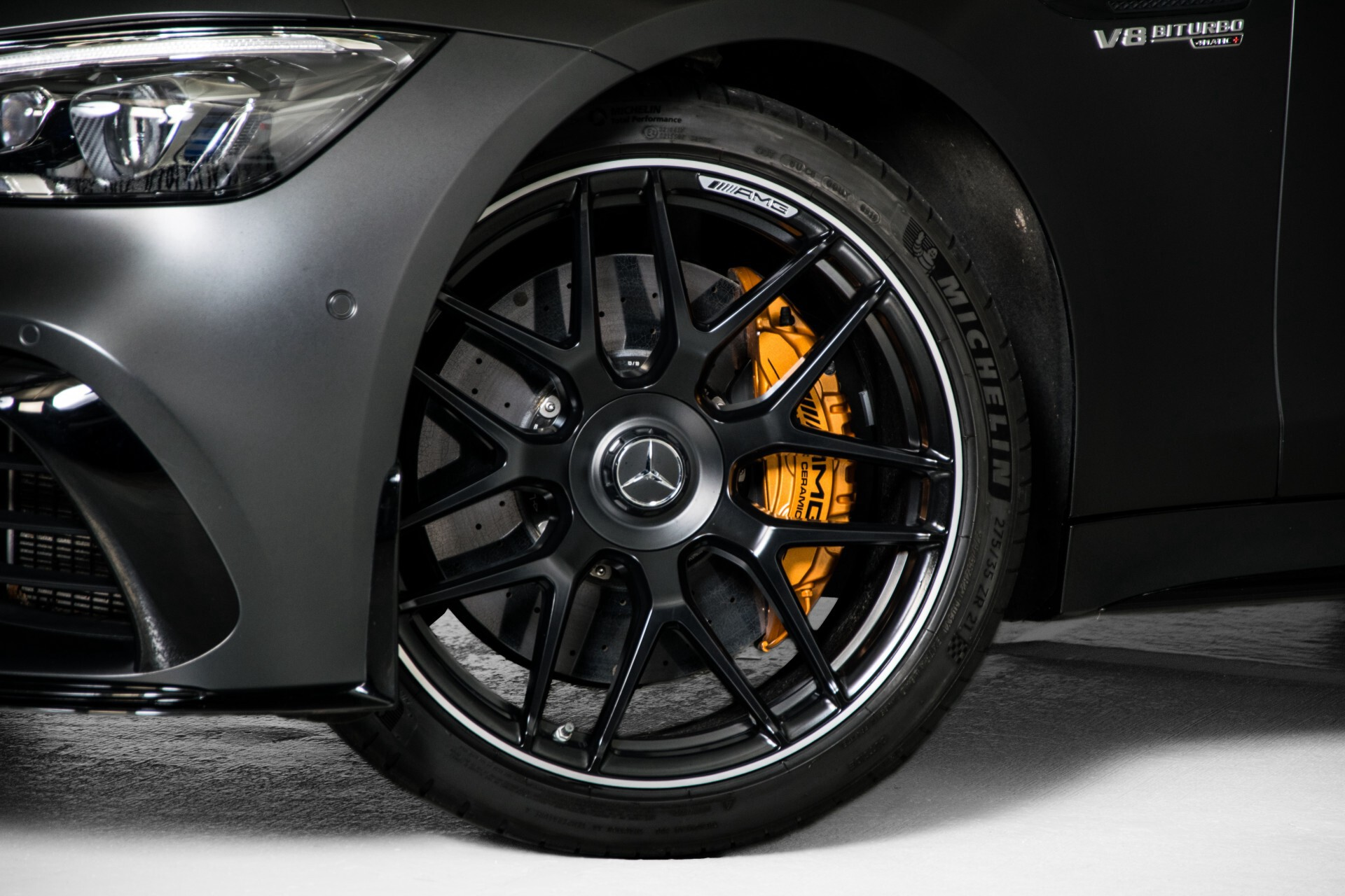 Mercedes-Benz AMG GT 4-Door Coupe 63 S 4M+ Keramisch/Full Carbon/Aerodynamica/Burmester 3D/TV/Performance stoelen/Standkachel Aut9 Foto 79