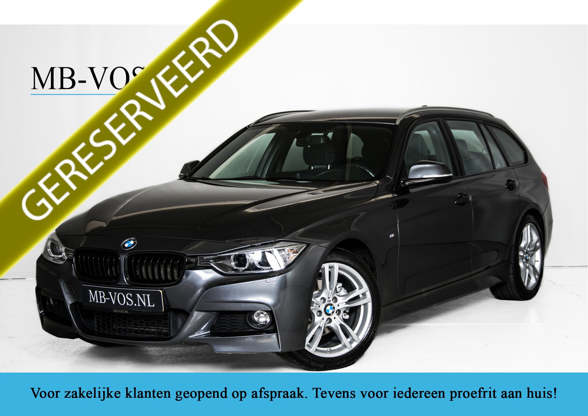 BMW 3 Serie Touring 316i M-Sportpakket Executive NL Auto/NAP Aut8 Foto 1