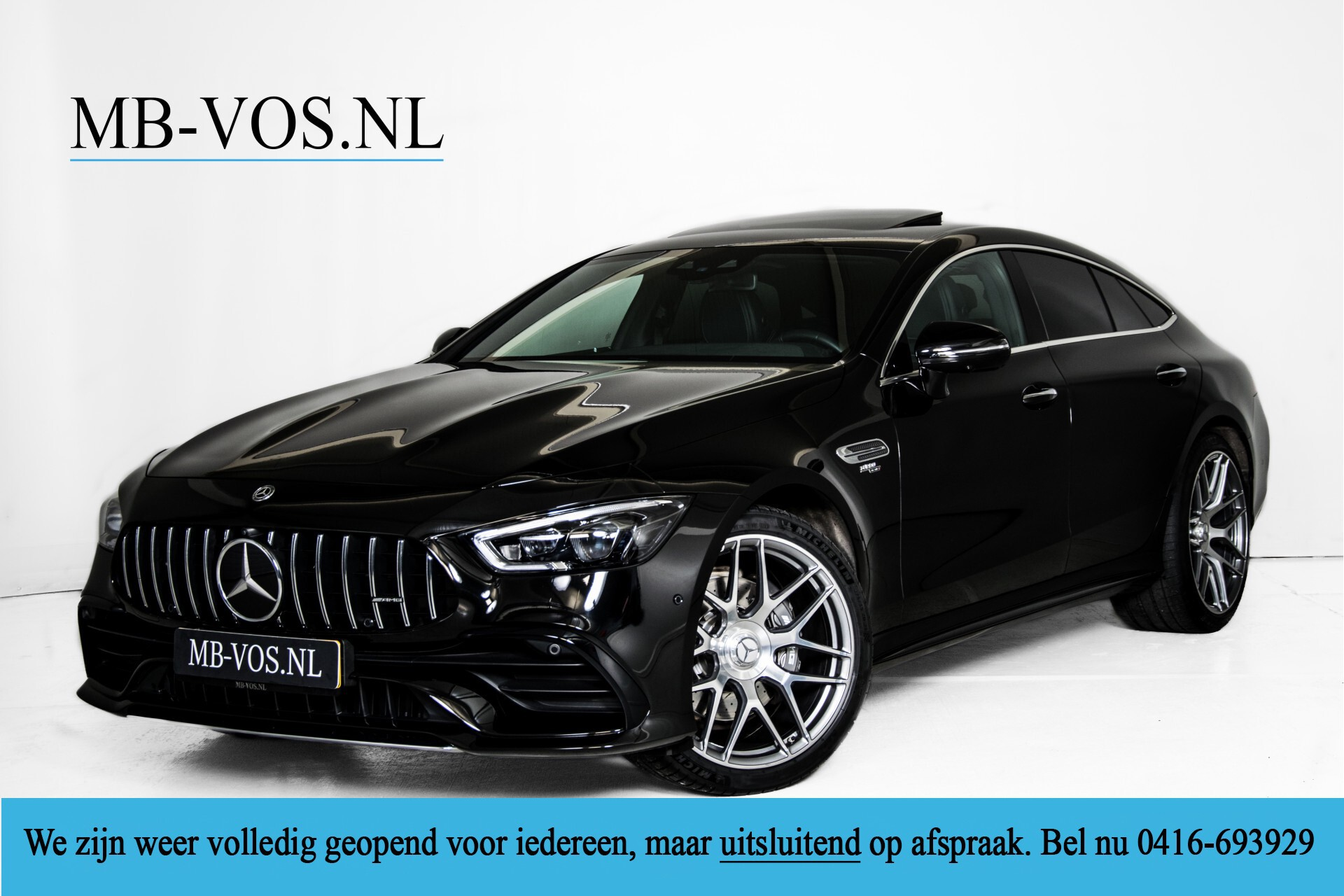 """Mercedes-Benz AMG GT 4-Door Coupe 43 4M+ 21""""/Performance Uitlaat/Massage/Rij-assist/Keyless/Burmester/5-persoons Aut9 Foto 1"""