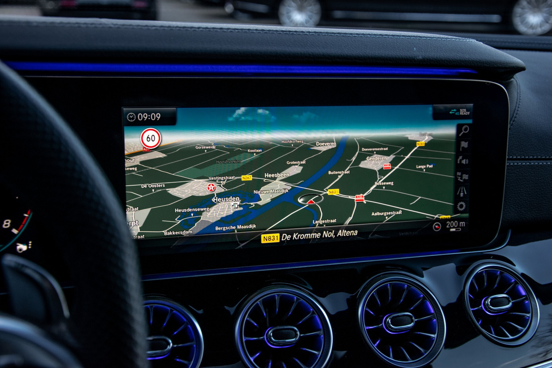 """Mercedes-Benz AMG GT 4-Door Coupe 43 4M+ 21""""/Performance Uitlaat/Massage/Rij-assist/Keyless/Burmester/5-persoons Aut9 Foto 18"""