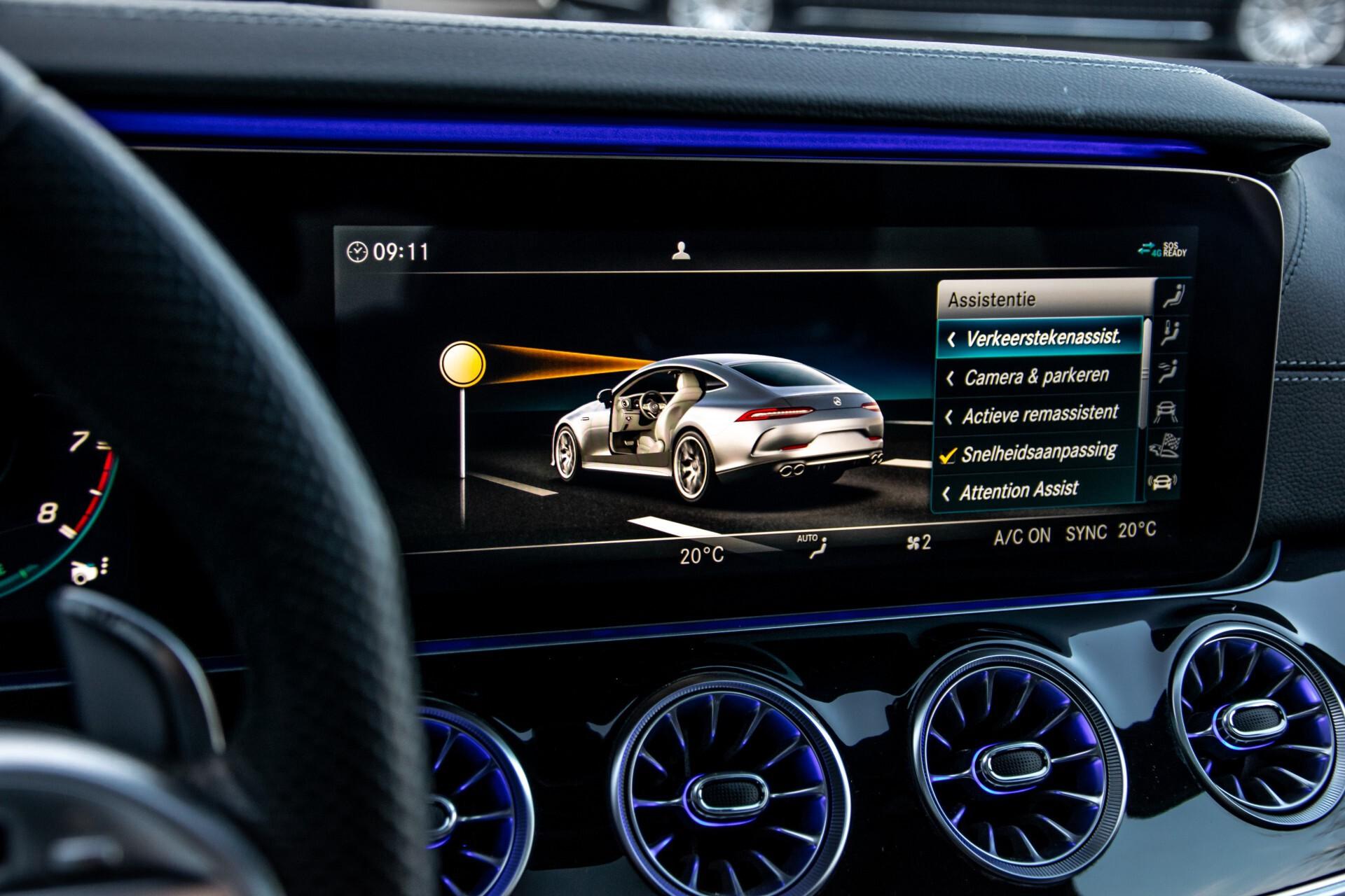 """Mercedes-Benz AMG GT 4-Door Coupe 43 4M+ 21""""/Performance Uitlaat/Massage/Rij-assist/Keyless/Burmester/5-persoons Aut9 Foto 32"""