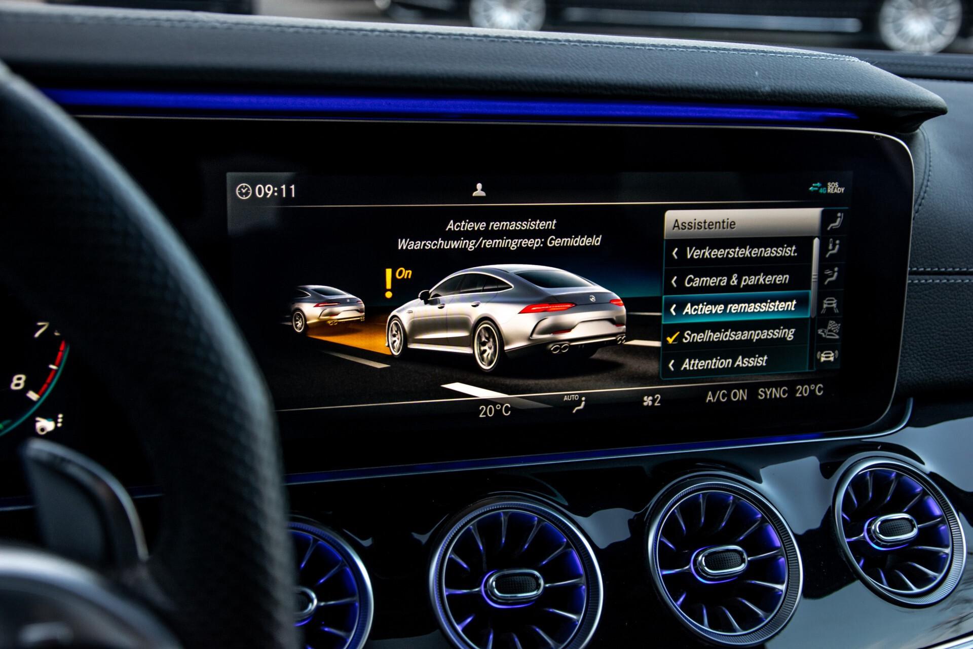 """Mercedes-Benz AMG GT 4-Door Coupe 43 4M+ 21""""/Performance Uitlaat/Massage/Rij-assist/Keyless/Burmester/5-persoons Aut9 Foto 34"""