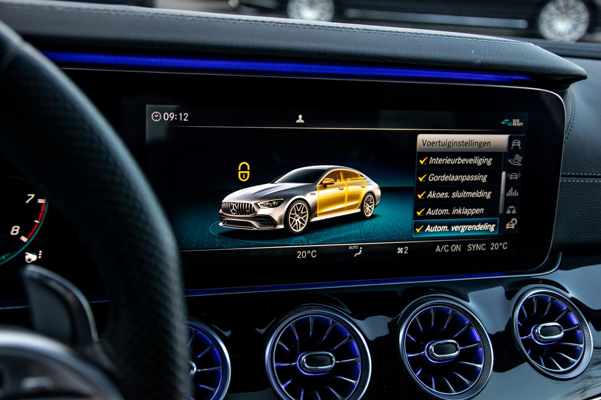 """Mercedes-Benz AMG GT 4-Door Coupe 43 4M+ 21""""/Performance Uitlaat/Massage/Rij-assist/Keyless/Burmester/5-persoons Aut9 Foto 40"""