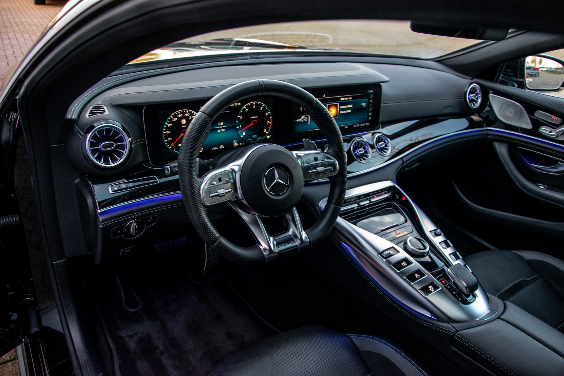 """Mercedes-Benz AMG GT 4-Door Coupe 43 4M+ 21""""/Performance Uitlaat/Massage/Rij-assist/Keyless/Burmester/5-persoons Aut9 Foto 45"""