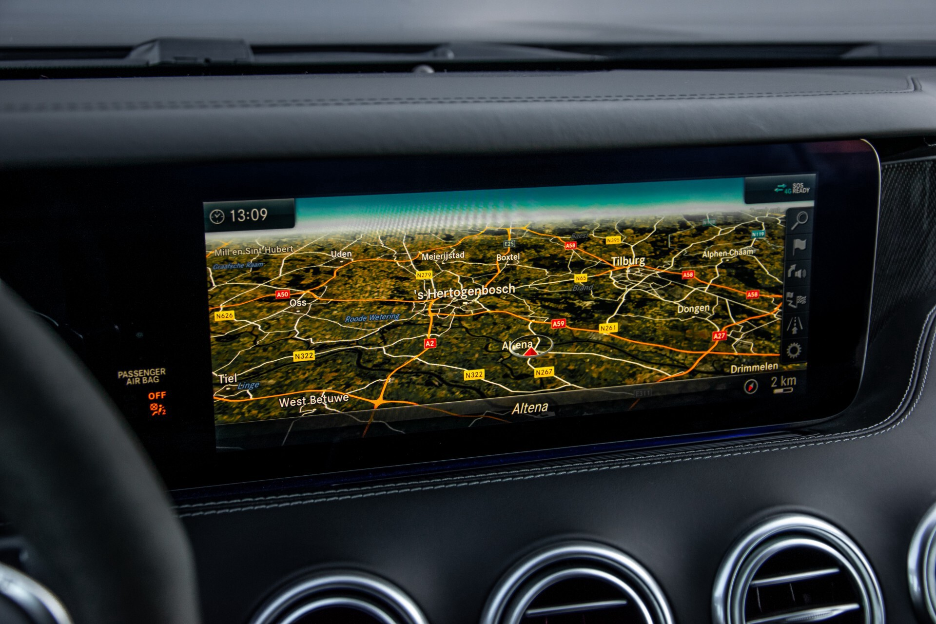 Mercedes-Benz S-Klasse Cabrio 63 AMG 4M+ Keramisch/Burmester High End 3D/Carbon/Driverspack/Blackpack Aut9 Foto 19