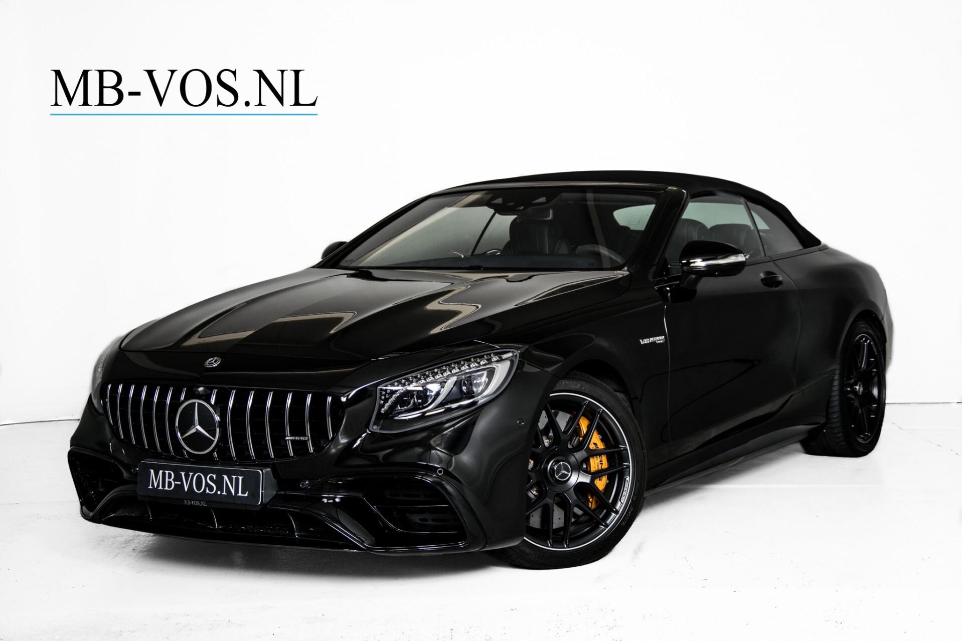 Mercedes-Benz S-Klasse Cabrio 63 AMG 4M+ Keramisch/Burmester High End 3D/Carbon/Driverspack/Blackpack Aut9 Foto 2