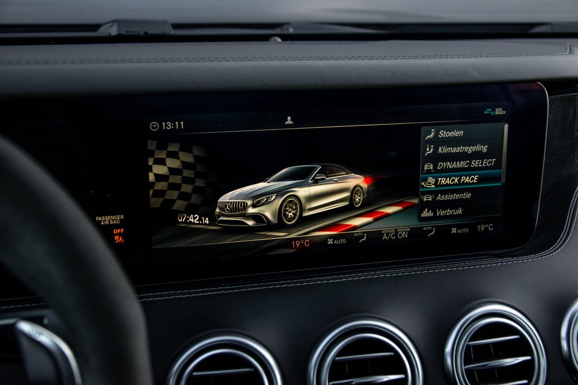 Mercedes-Benz S-Klasse Cabrio 63 AMG 4M+ Keramisch/Burmester High End 3D/Carbon/Driverspack/Blackpack Aut9 Foto 27