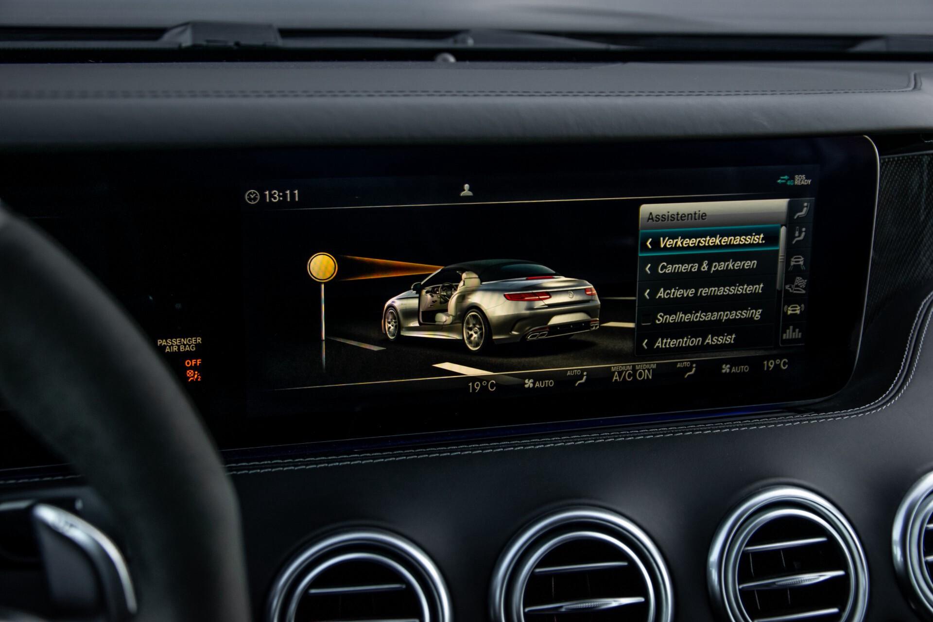 Mercedes-Benz S-Klasse Cabrio 63 AMG 4M+ Keramisch/Burmester High End 3D/Carbon/Driverspack/Blackpack Aut9 Foto 29