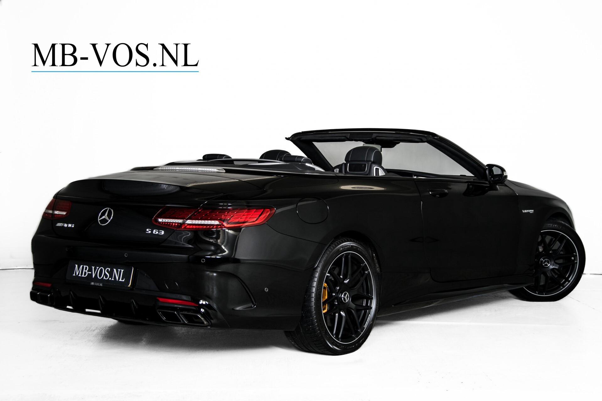 Mercedes-Benz S-Klasse Cabrio 63 AMG 4M+ Keramisch/Burmester High End 3D/Carbon/Driverspack/Blackpack Aut9 Foto 3