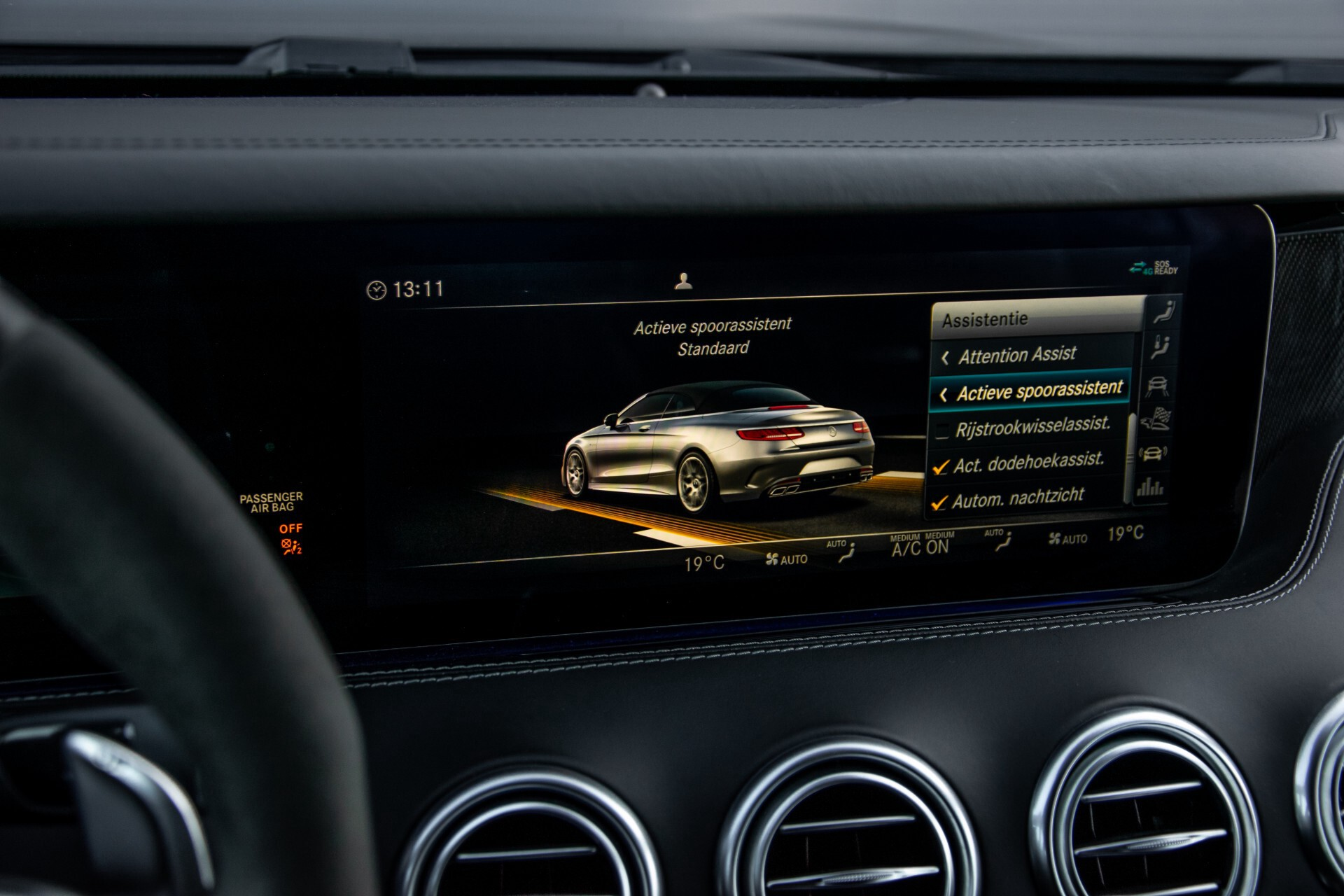 Mercedes-Benz S-Klasse Cabrio 63 AMG 4M+ Keramisch/Burmester High End 3D/Carbon/Driverspack/Blackpack Aut9 Foto 35