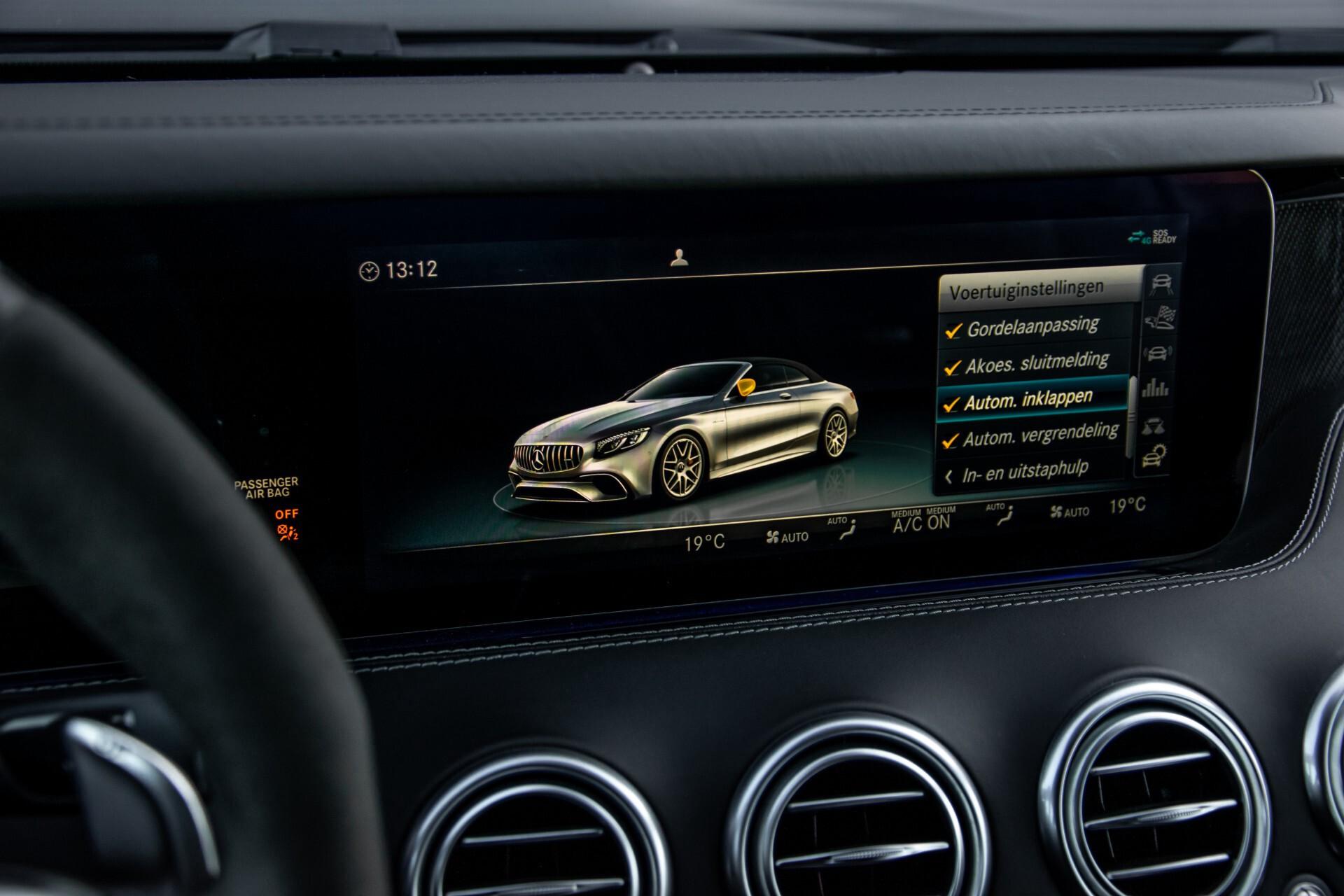 Mercedes-Benz S-Klasse Cabrio 63 AMG 4M+ Keramisch/Burmester High End 3D/Carbon/Driverspack/Blackpack Aut9 Foto 41