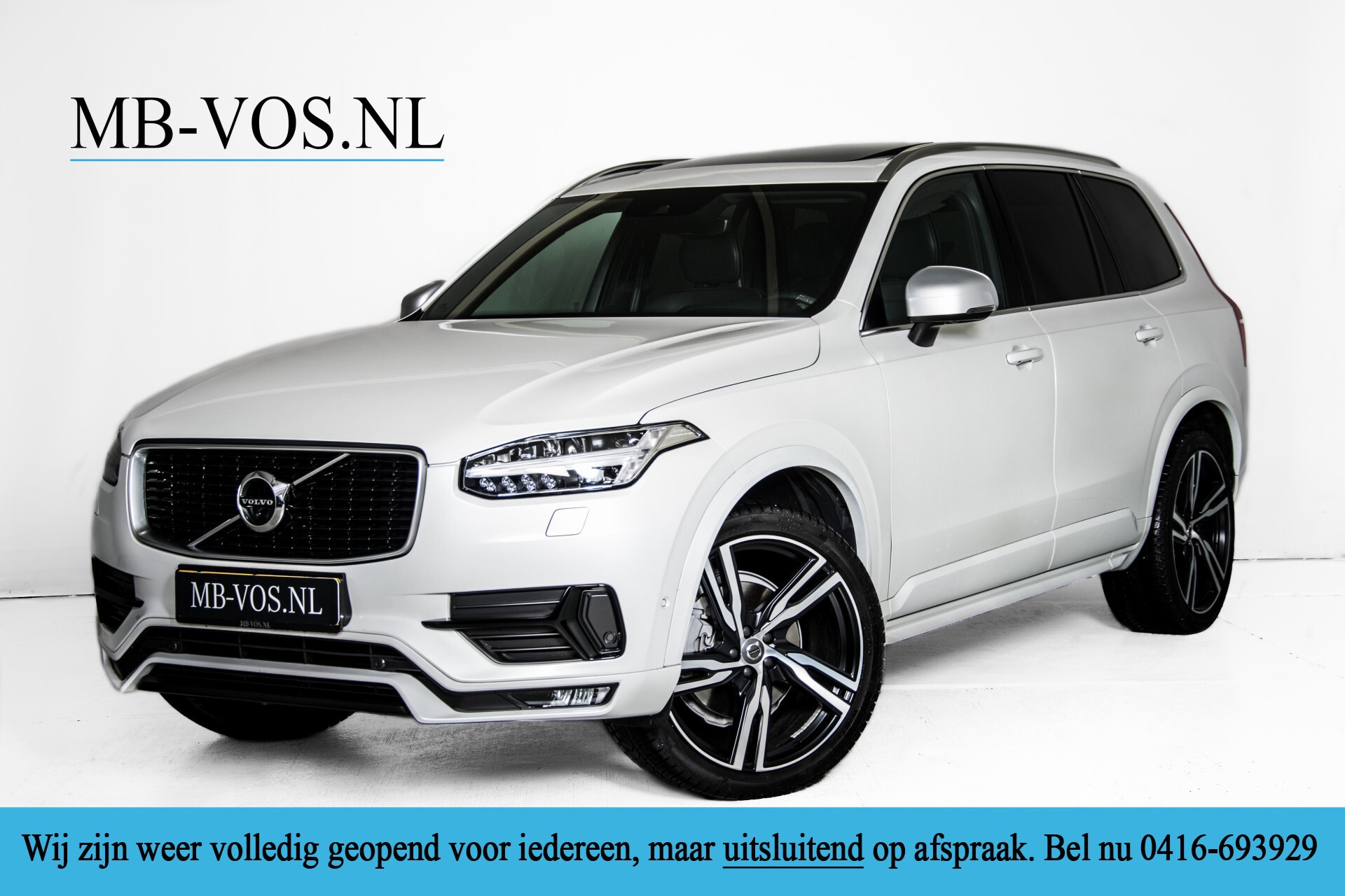 "Volvo XC90 2.0 T6 AWD R-Design Panorama/Keyless/B&W/ACC/Standkachel/22"" Aut8 Foto 1"