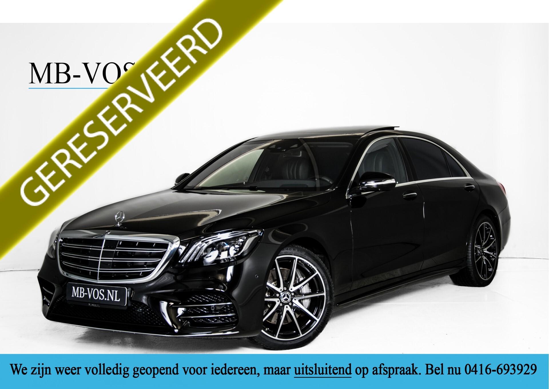 Mercedes-Benz S-Klasse 400d 4-M Lang AMG Standkachel/Massage/Distronic/Entertainment Aut9 Foto 1