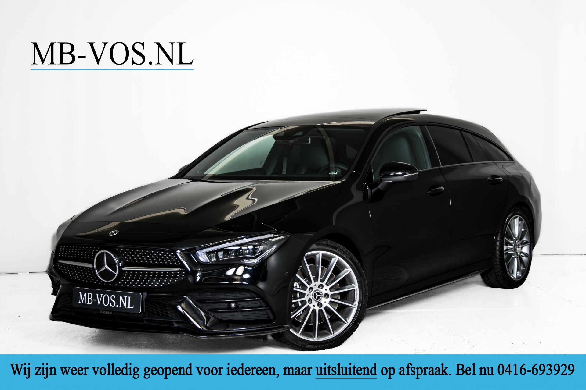 Mercedes-Benz CLA-Klasse Shooting Brake 250 AMG Panorama/Rij-assistentie/Burmester/Night Aut7 Foto 1