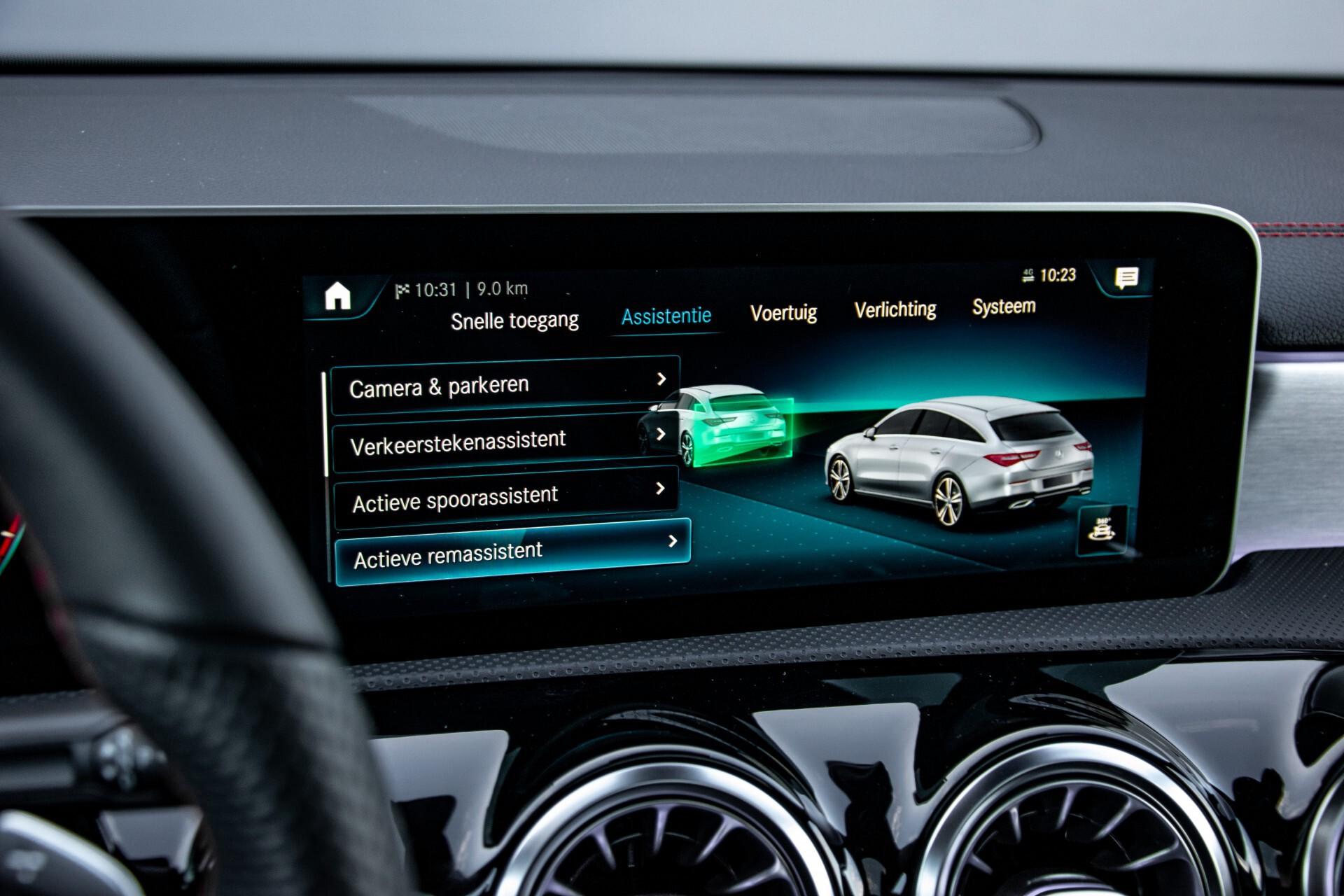 Mercedes-Benz CLA-Klasse Shooting Brake 250 AMG Panorama/Rij-assistentie/Burmester/Night Aut7 Foto 33