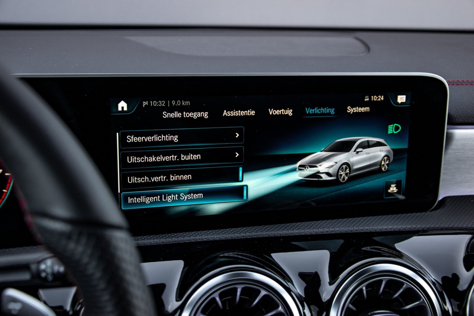 Mercedes-Benz CLA-Klasse Shooting Brake 250 AMG Panorama/Rij-assistentie/Burmester/Night Aut7 Foto 39