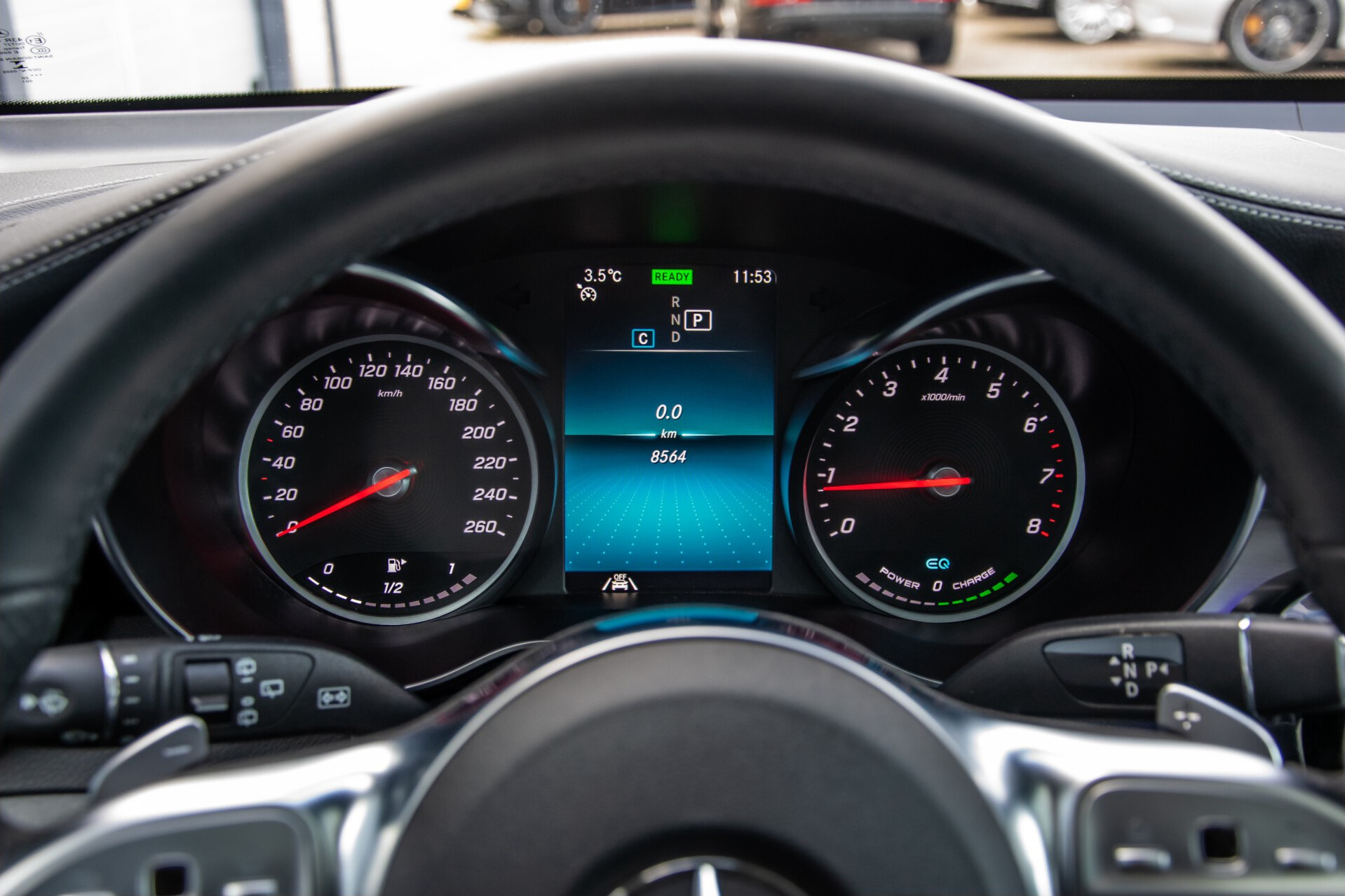 Mercedes-Benz GLC 300 4-M AMG Panorama/Keyless/Assistentiepakket/MBUX//Wegkl-trekhaak Aut9 Foto 13