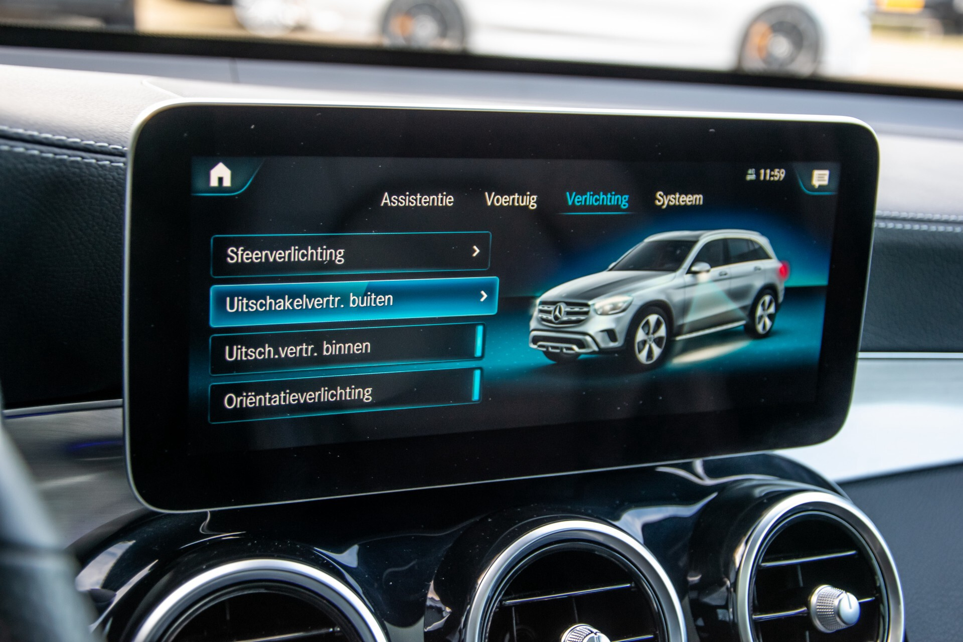 Mercedes-Benz GLC 300 4-M AMG Panorama/Keyless/Assistentiepakket/MBUX//Wegkl-trekhaak Aut9 Foto 31