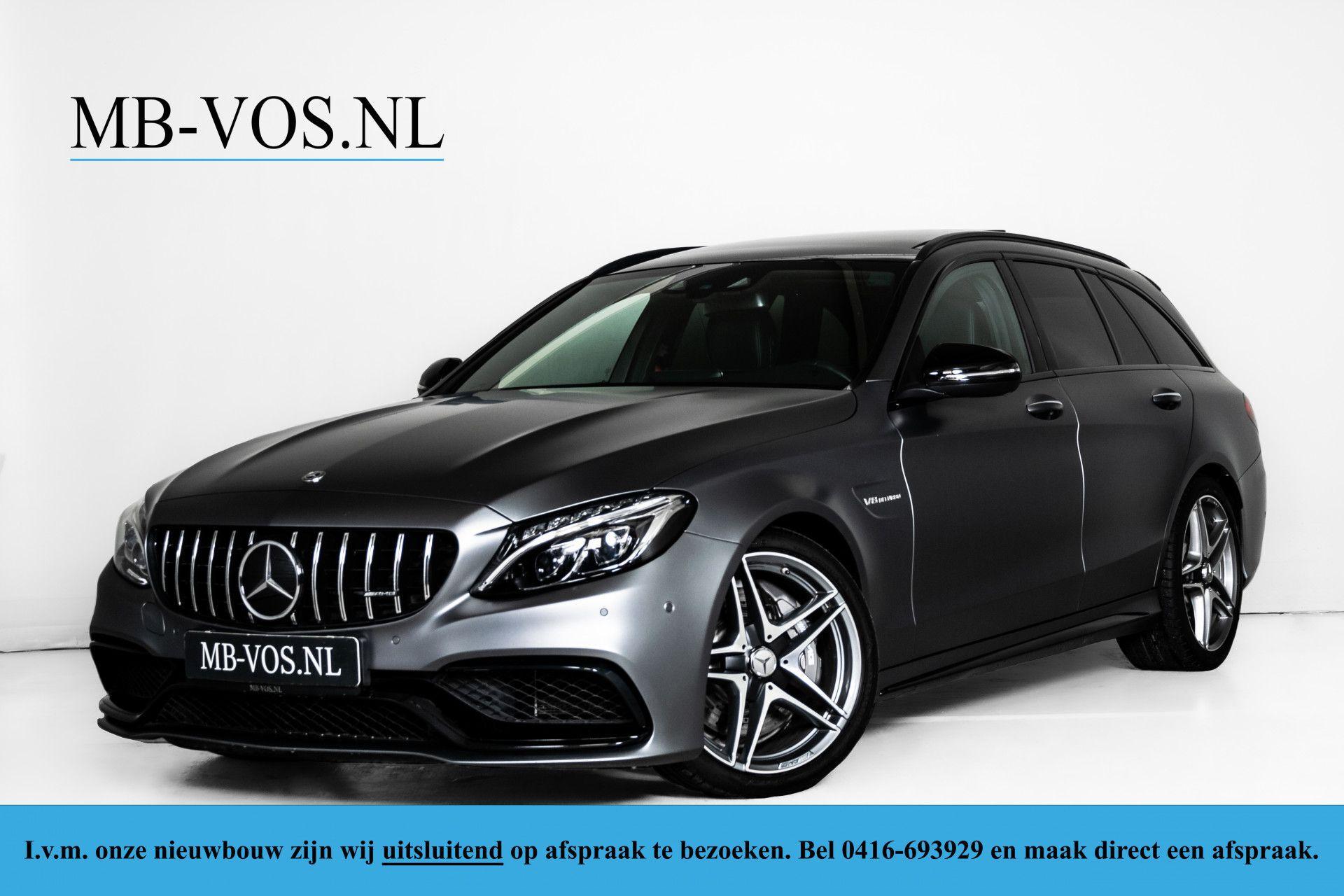 Mercedes-Benz C-Klasse Estate 63 AMG Night Designo/Rij-assistentie/Keyless/Burmester/Panorama Aut7 Foto 1