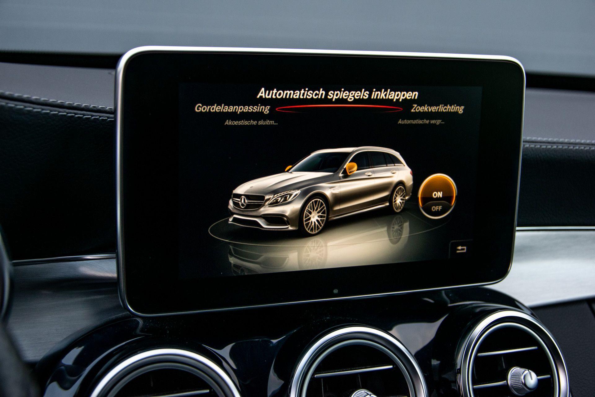 Mercedes-Benz C-Klasse Estate 63 AMG Night Designo/Rij-assistentie/Keyless/Burmester/Panorama Aut7 Foto 19