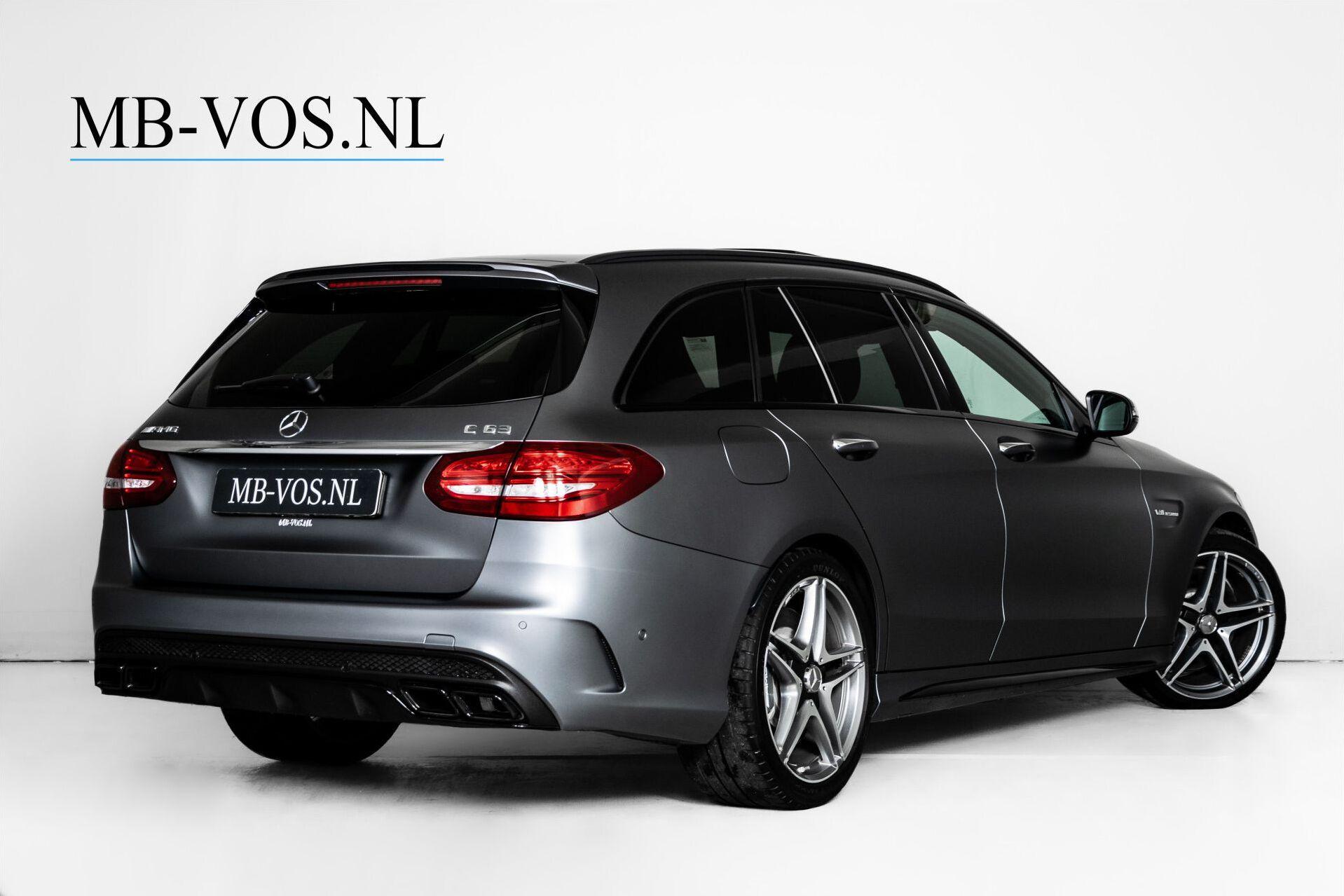 Mercedes-Benz C-Klasse Estate 63 AMG Night Designo/Rij-assistentie/Keyless/Burmester/Panorama Aut7 Foto 2