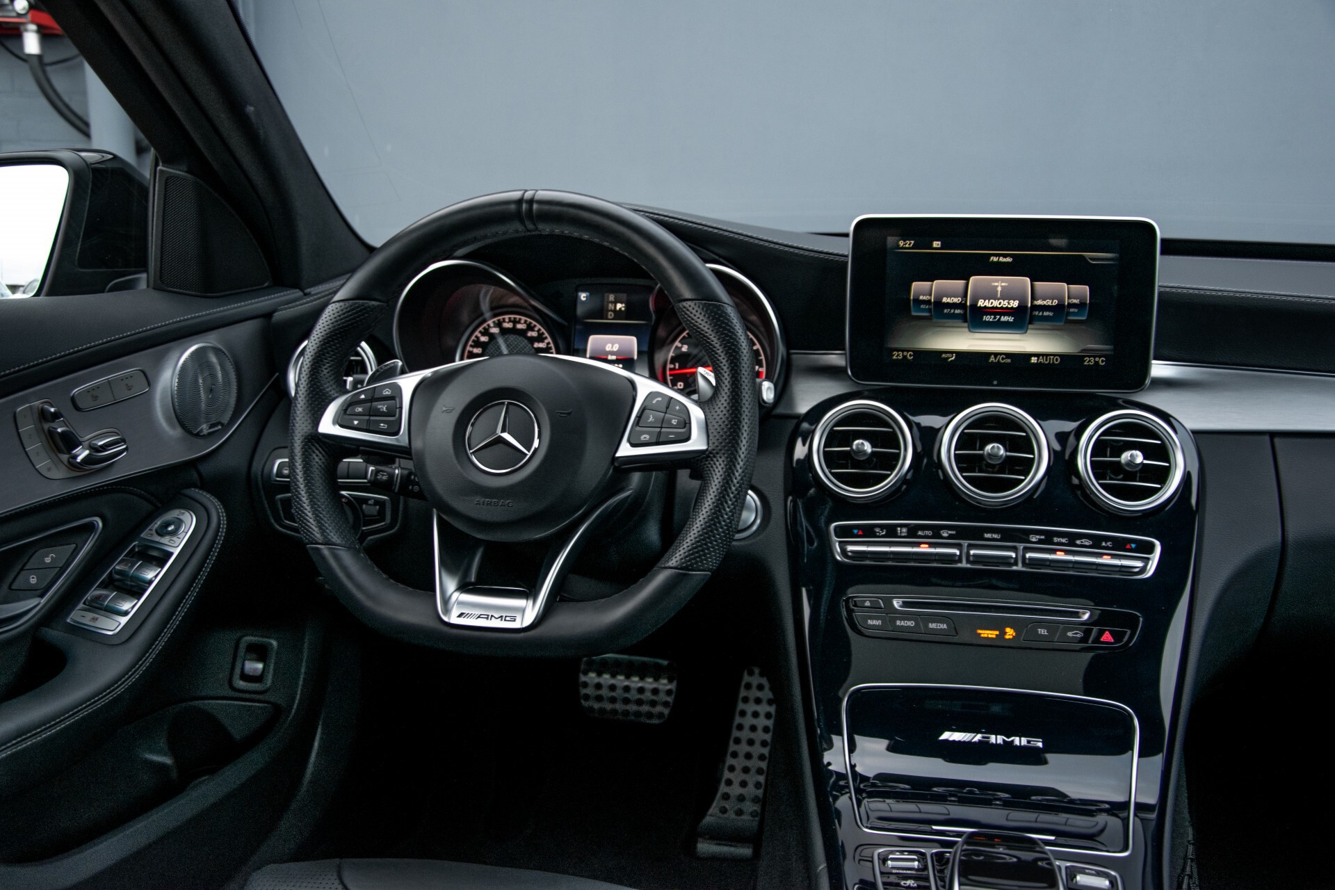 Mercedes-Benz C-Klasse Estate 63 AMG Night Designo/Rij-assistentie/Keyless/Burmester/Panorama Aut7 Foto 5