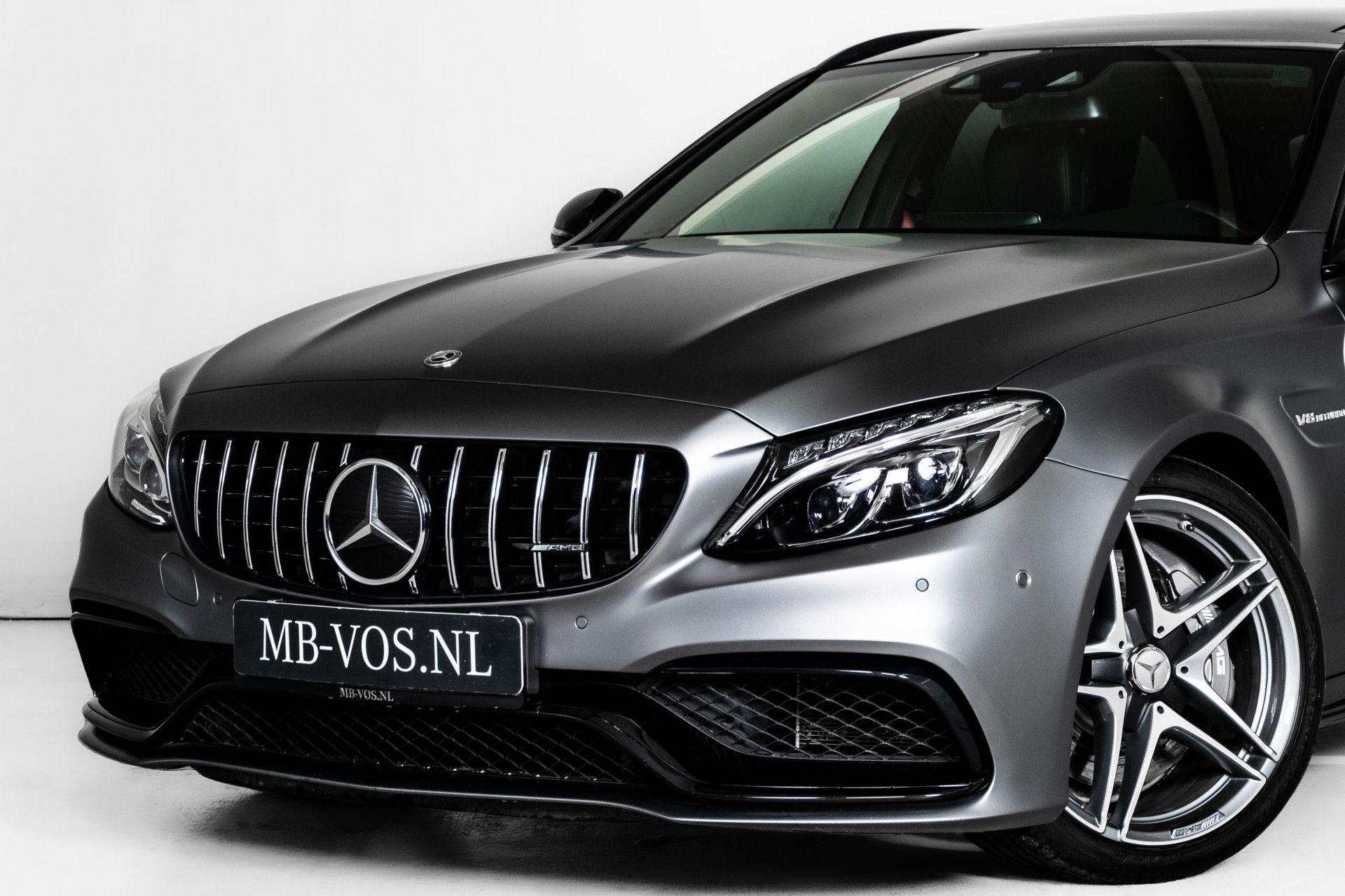 Mercedes-Benz C-Klasse Estate 63 AMG Night Designo/Rij-assistentie/Keyless/Burmester/Panorama Aut7 Foto 52