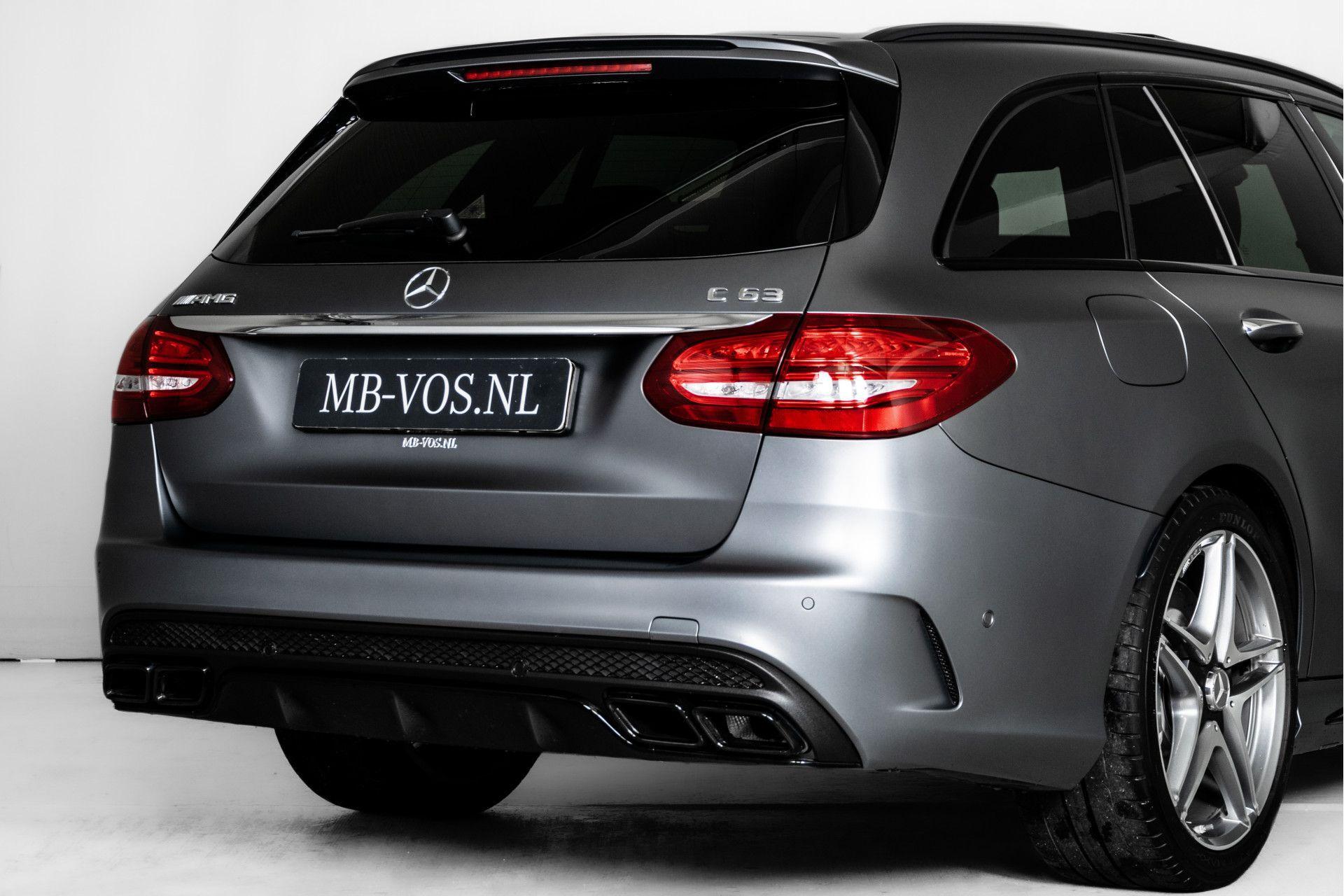 Mercedes-Benz C-Klasse Estate 63 AMG Night Designo/Rij-assistentie/Keyless/Burmester/Panorama Aut7 Foto 53