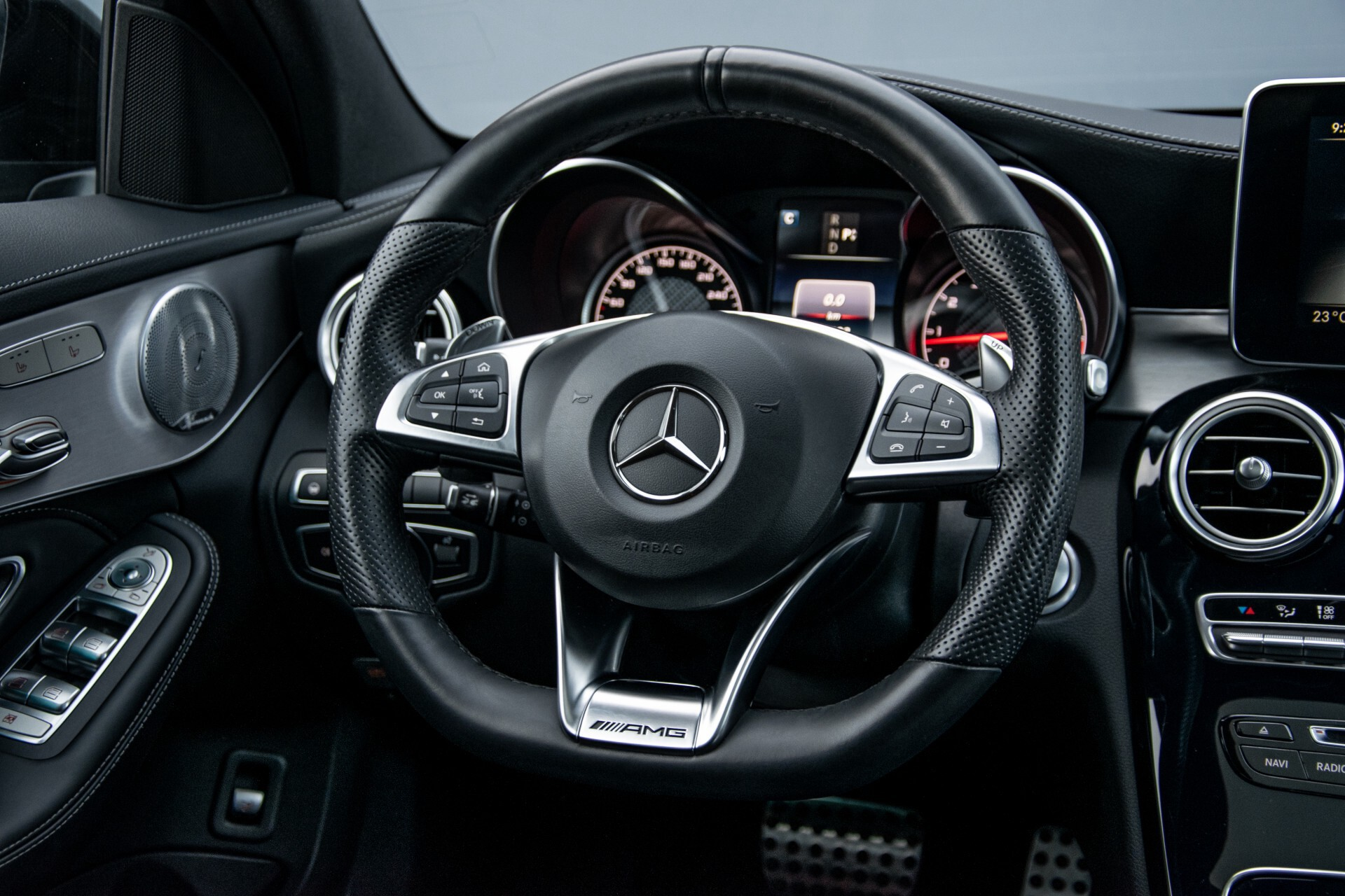 Mercedes-Benz C-Klasse Estate 63 AMG Night Designo/Rij-assistentie/Keyless/Burmester/Panorama Aut7 Foto 8
