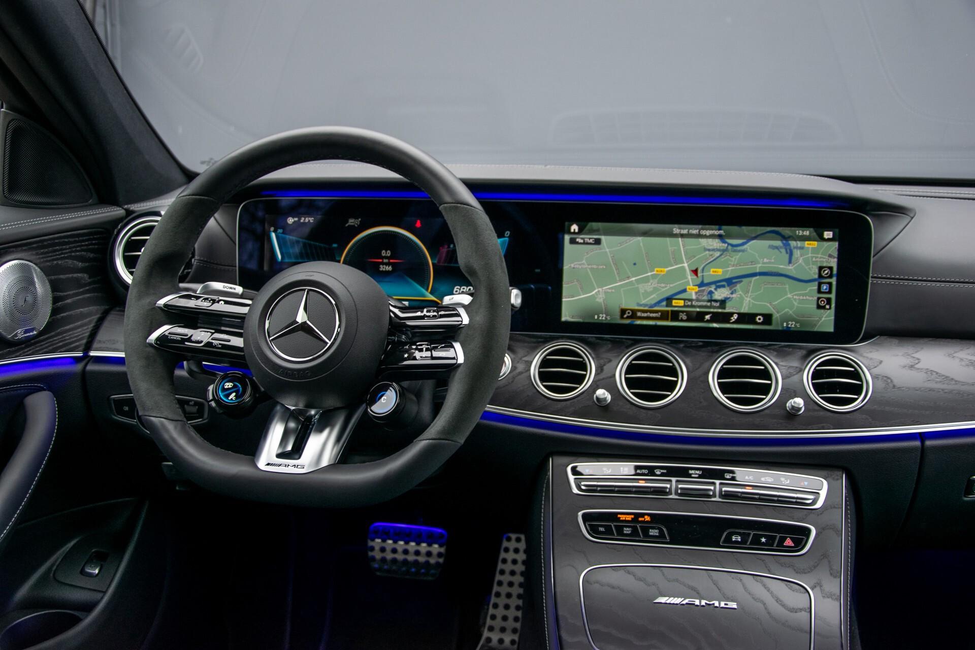 Mercedes-Benz E-Klasse 63 S AMG 4M+ NIEUW MODEL Night/Massage/Rij-assist/Keyless/Hud Aut9 Foto 5