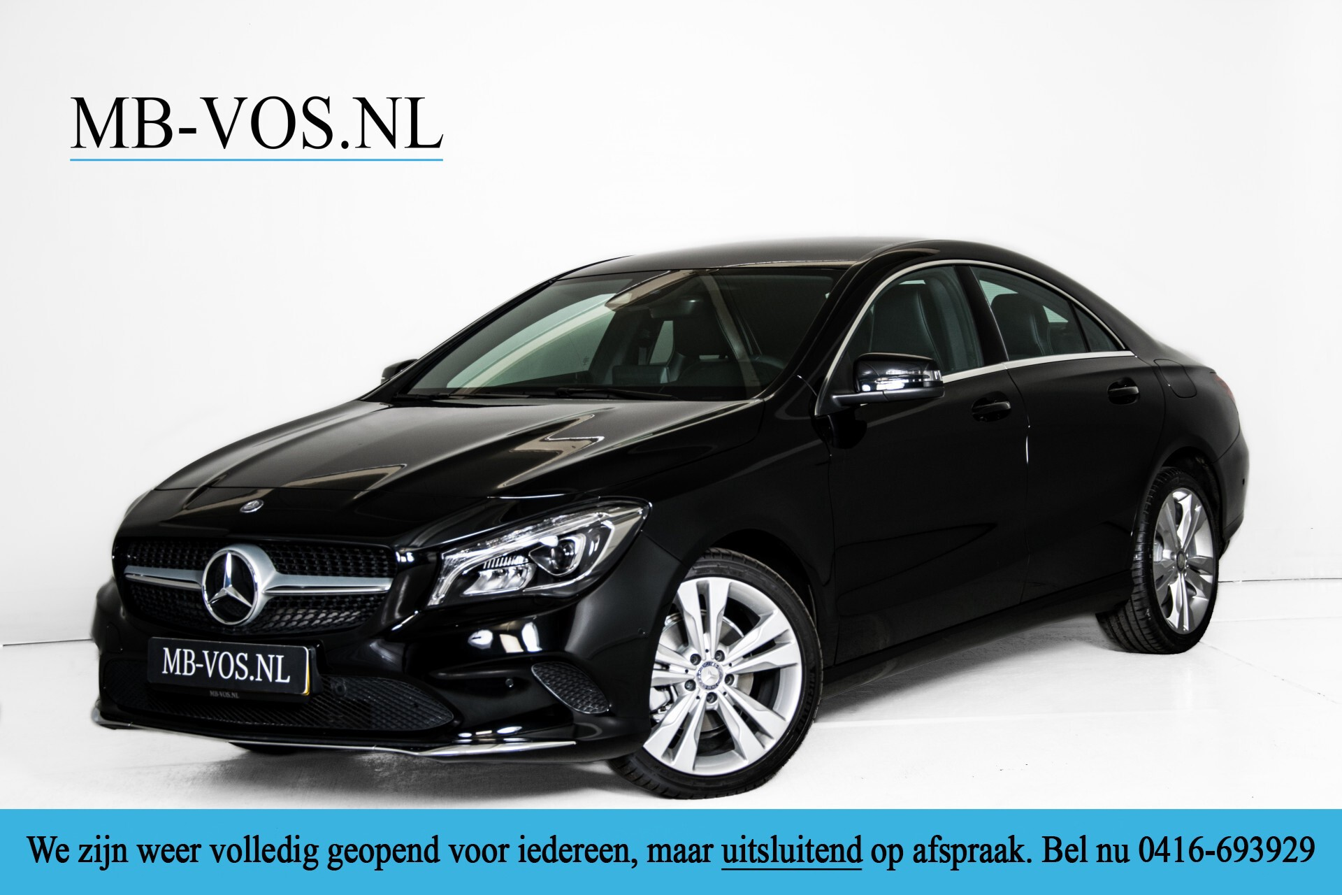Mercedes-Benz CLA-Klasse 180 Urban Mediadisplay/Stoelverwarming/LED Aut7 Foto 1
