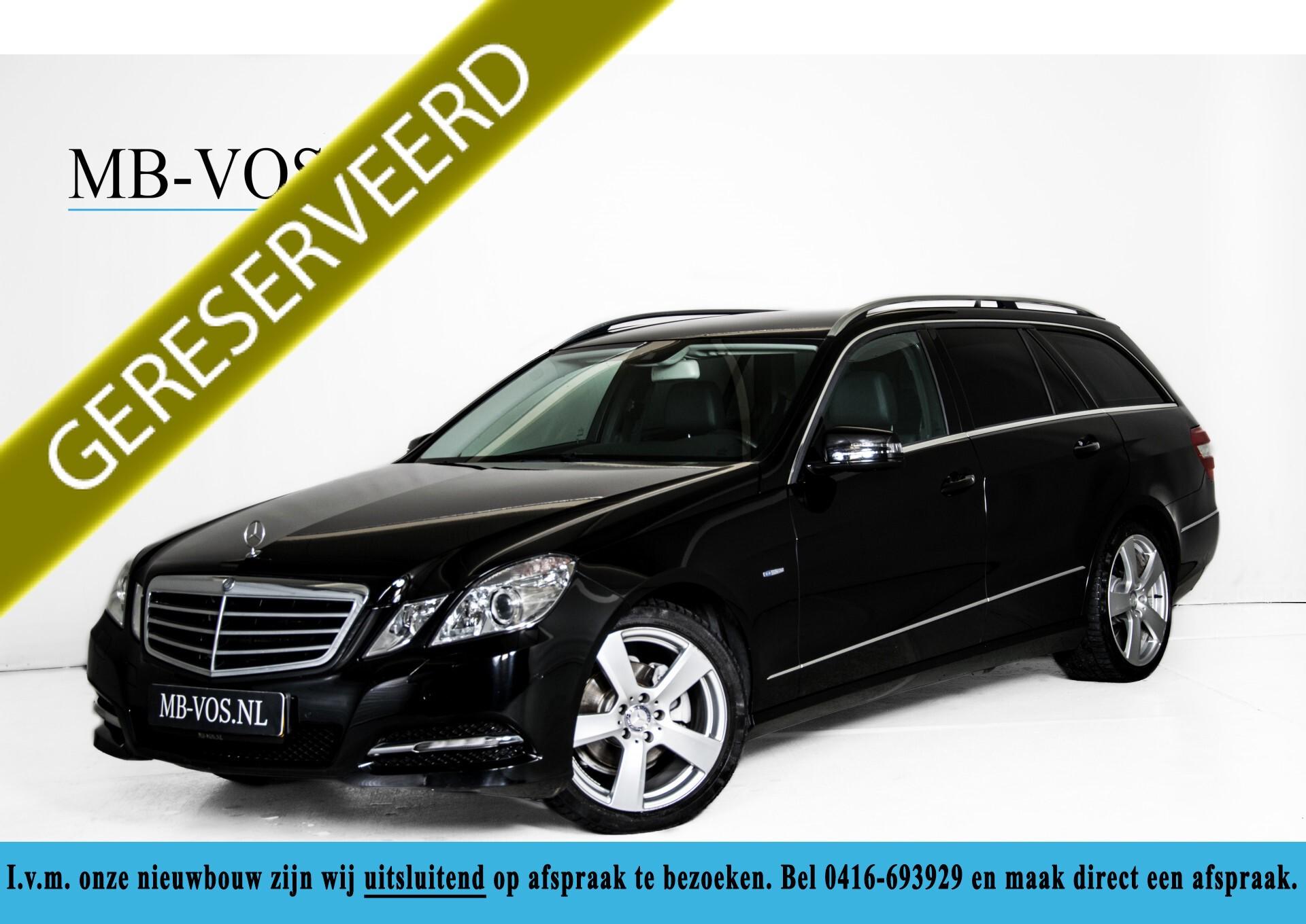 "Mercedes-Benz E-Klasse Estate 220 Cdi Avantgarde Wegklapbare trekhaak/18""/Privacyglas Aut7 Foto 1"