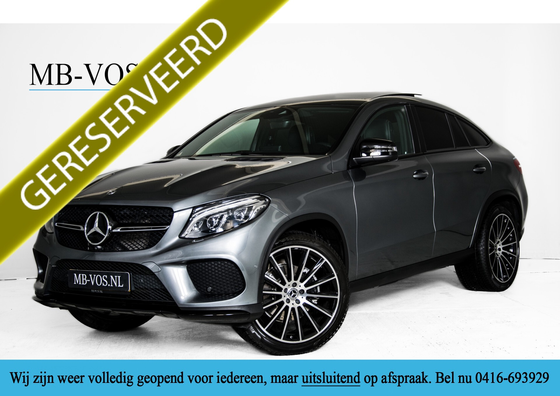 "Mercedes-Benz GLE Coupé 350 d 4-M AMG Active Curve/22""/Carbon/Night/Harman-Kardon Aut9 Foto 1"