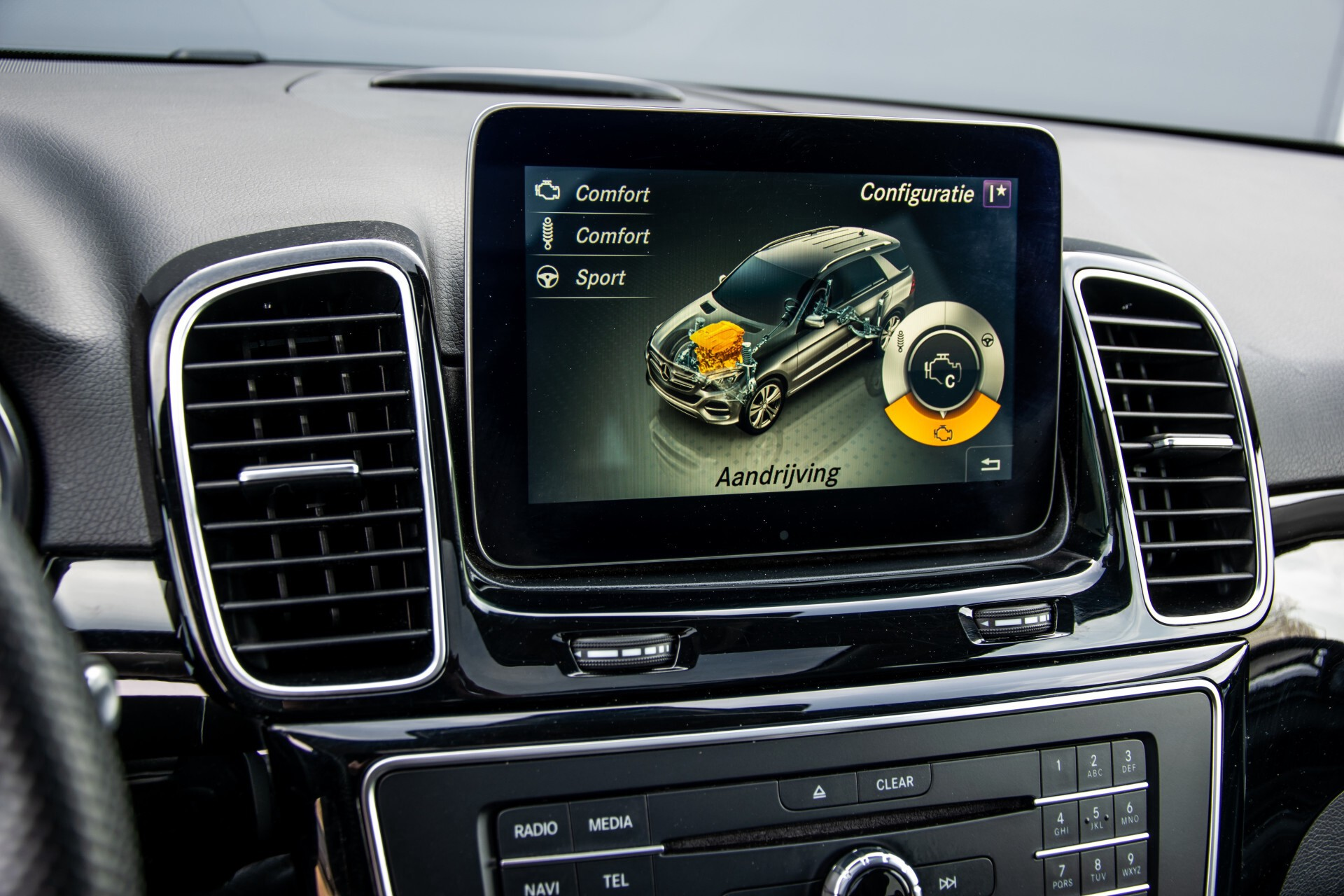 Mercedes-Benz GLE 350 d 4-M AMG Active Curve System/Panorama/Standkachel/Harman-Kardon/Trekhaak Aut9 Foto 35