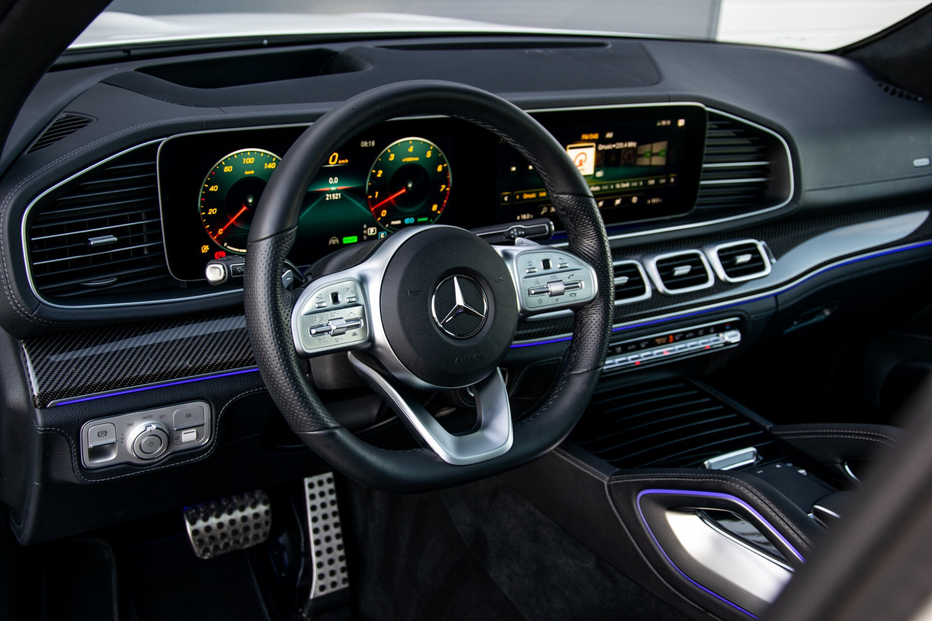 Mercedes-Benz GLE 450 4-M AMG Night/Carbon/Designo/Standkachel/Rij-assist/Keyless/Burmester Aut9 Foto 10