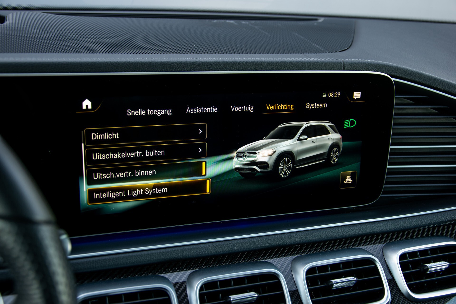 Mercedes-Benz GLE 450 4-M AMG Night/Carbon/Designo/Standkachel/Rij-assist/Keyless/Burmester Aut9 Foto 43