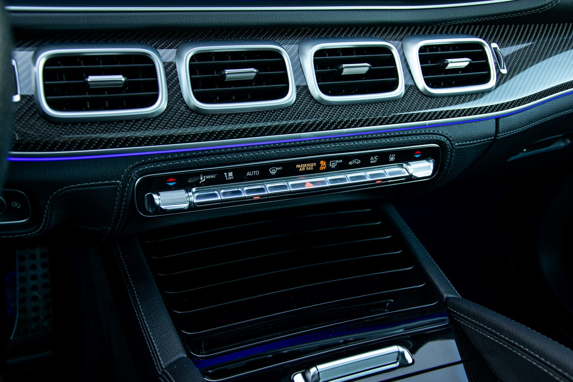 Mercedes-Benz GLE 450 4-M AMG Night/Carbon/Designo/Standkachel/Rij-assist/Keyless/Burmester Aut9 Foto 51