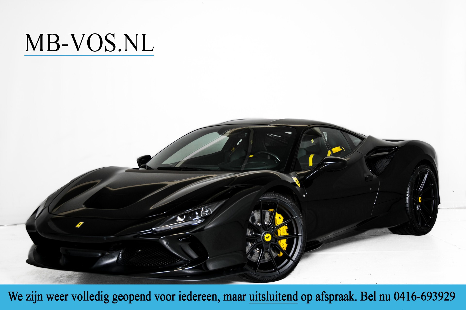 Ferrari F8 Tributo 3.9 V8 HELE Novitech Full Carbon/Lift/Racing Seats/Passenger Display/Hifi Foto 1