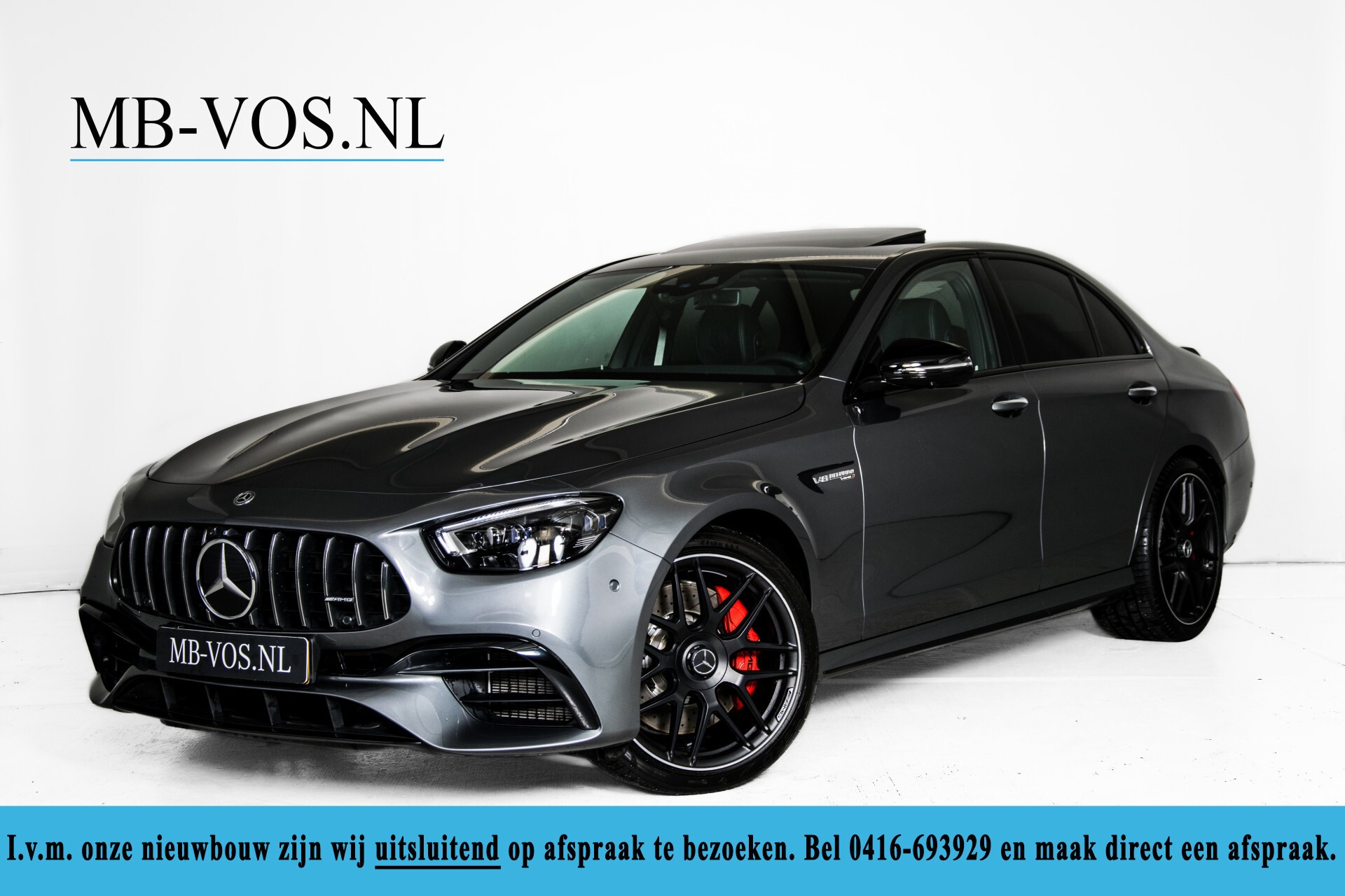 Mercedes-Benz E-Klasse 63 S AMG 4M+ NIEUW MODEL Night/Massage/Rij-assist/Keyless/Hud Aut9 Foto 1