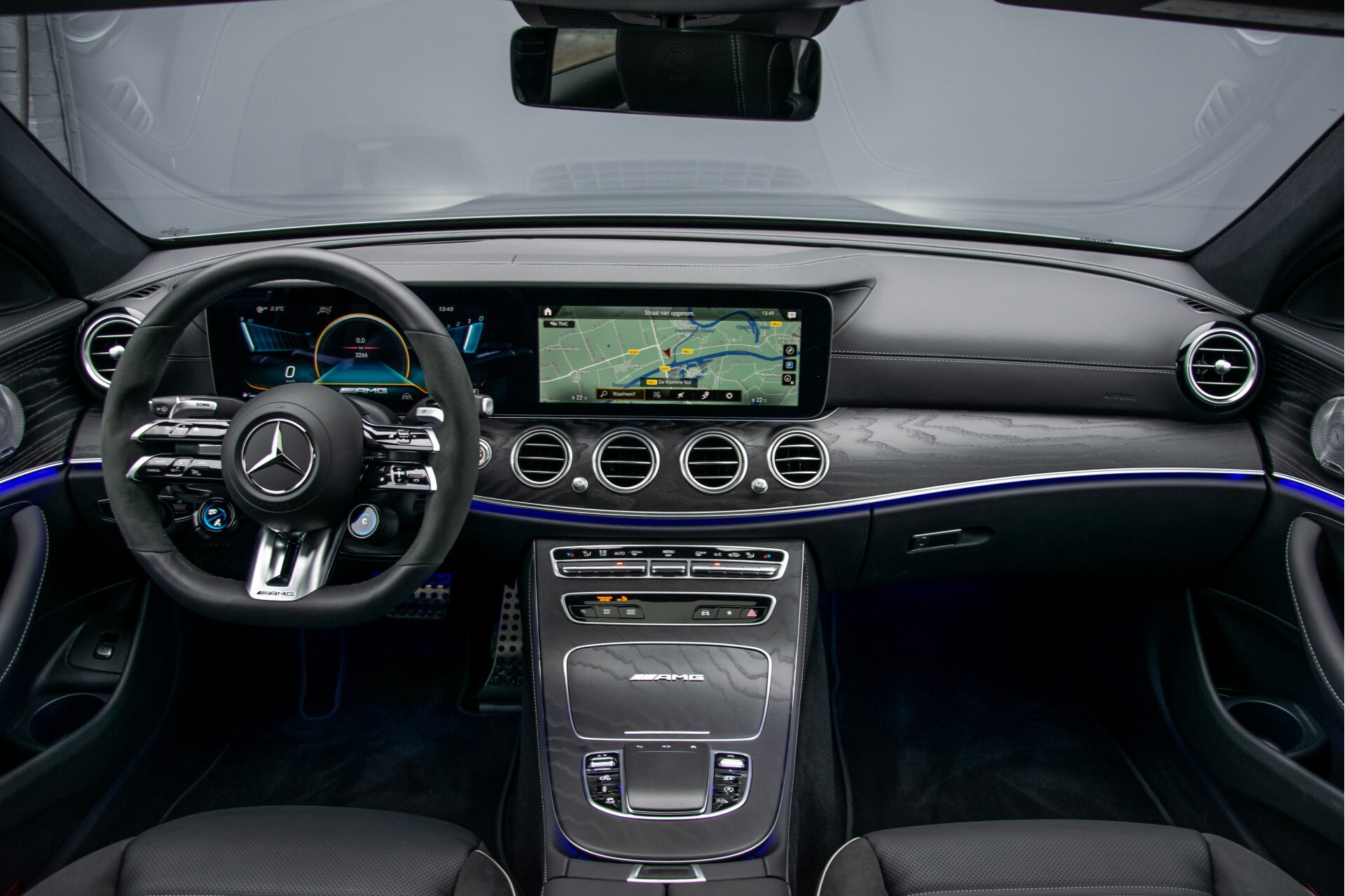 Mercedes-Benz E-Klasse 63 S AMG 4M+ NIEUW MODEL Night/Massage/Rij-assist/Keyless/Hud Aut9 Foto 7