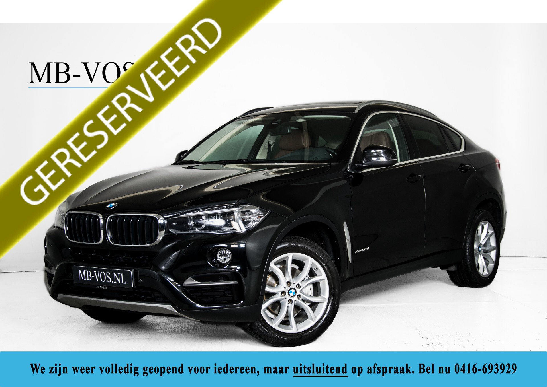 BMW X6 xDrive30d High Executive Driving Assistant/Dak/Comfortstoelen/Trekhaak Aut8 Foto 1
