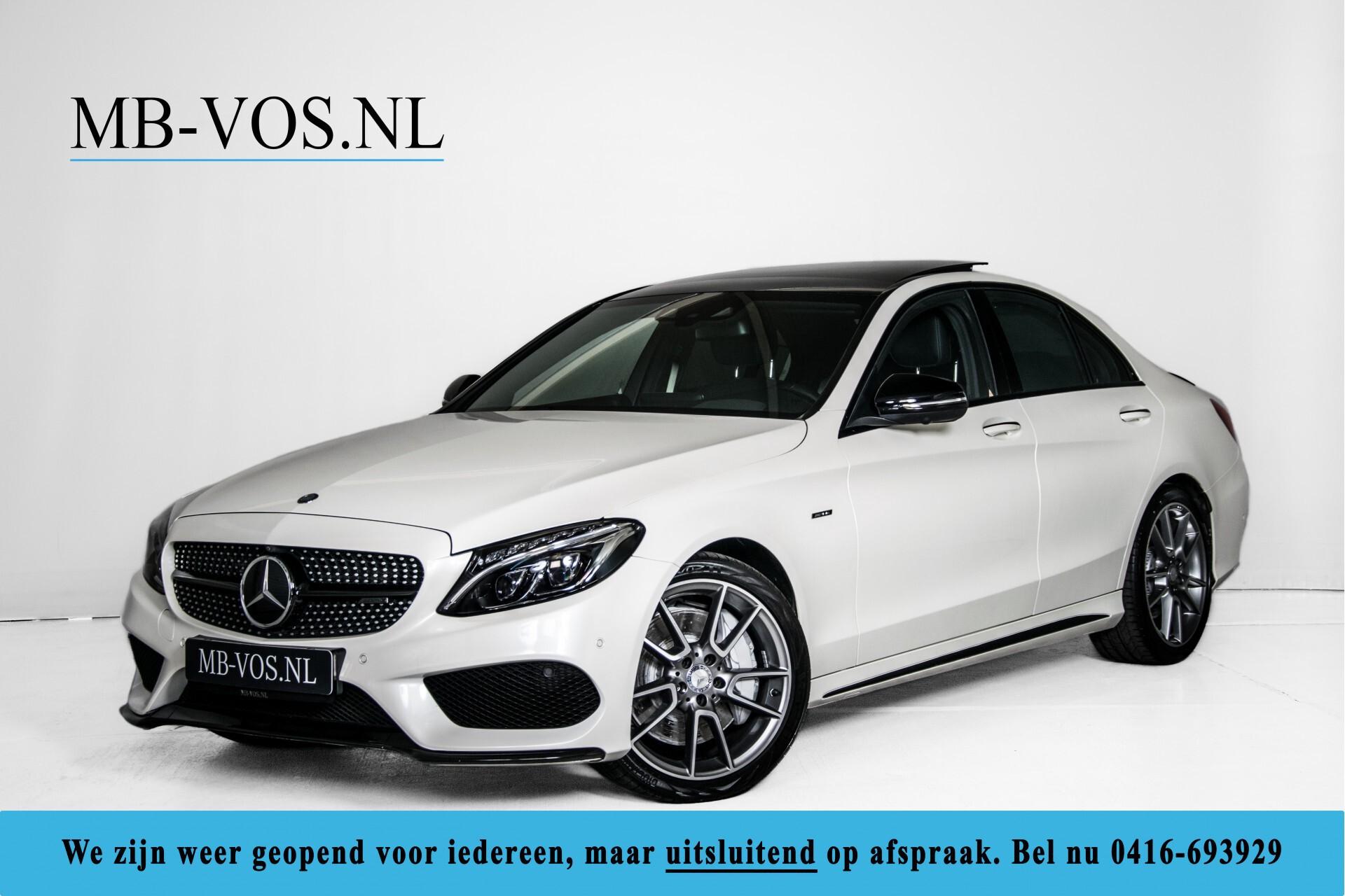 Mercedes-Benz C-Klasse 450/43 AMG 4-M Distronic/Standkachel/Panorama/Keyless/Harman-Kardon/Stoelkoeling Aut7 Foto 1