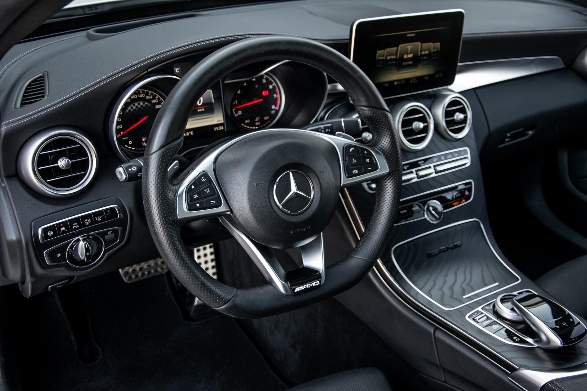 Mercedes-Benz C-Klasse 450/43 AMG 4-M Distronic/Standkachel/Panorama/Keyless/Harman-Kardon/Stoelkoeling Aut7 Foto 16