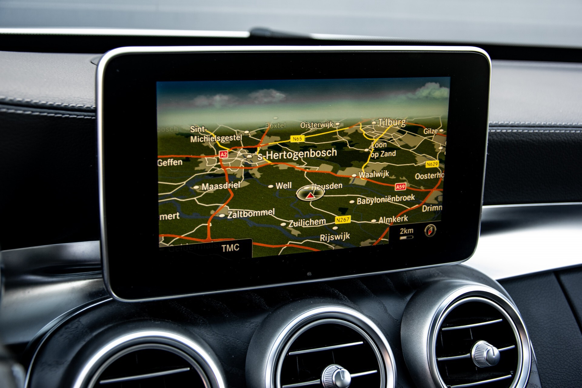 Mercedes-Benz C-Klasse 450/43 AMG 4-M Distronic/Standkachel/Panorama/Keyless/Harman-Kardon/Stoelkoeling Aut7 Foto 17