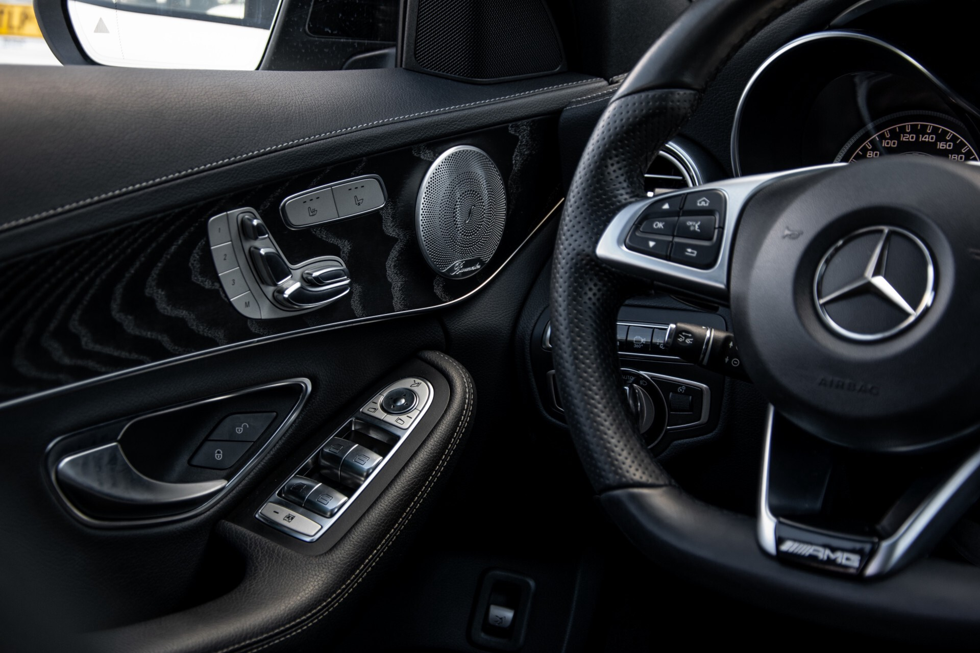 Mercedes-Benz C-Klasse 450/43 AMG 4-M Distronic/Standkachel/Panorama/Keyless/Harman-Kardon/Stoelkoeling Aut7 Foto 51